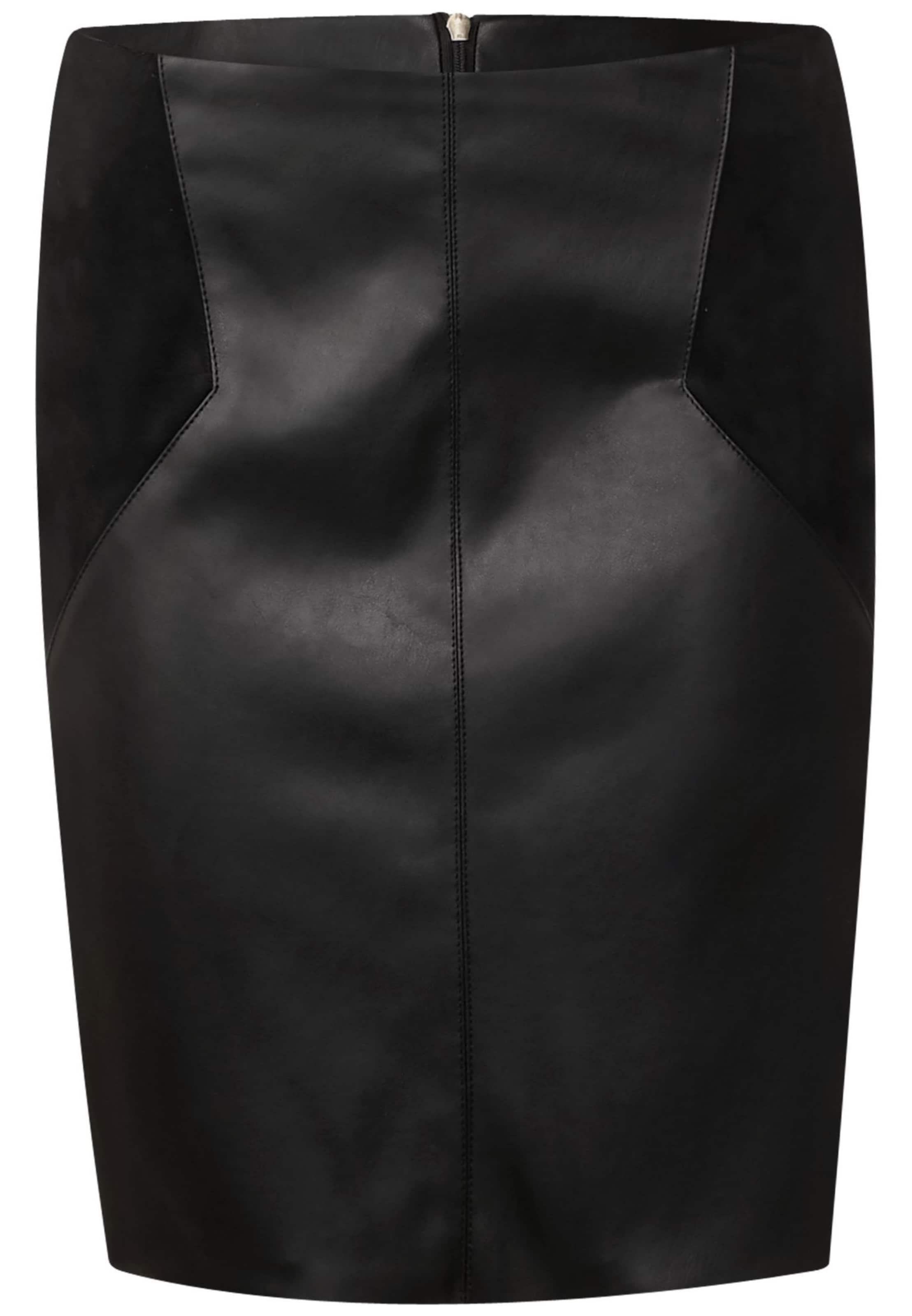 Street One 'maja Noir En Pu Jupe Skirt' L52 E2WIYDbeH9