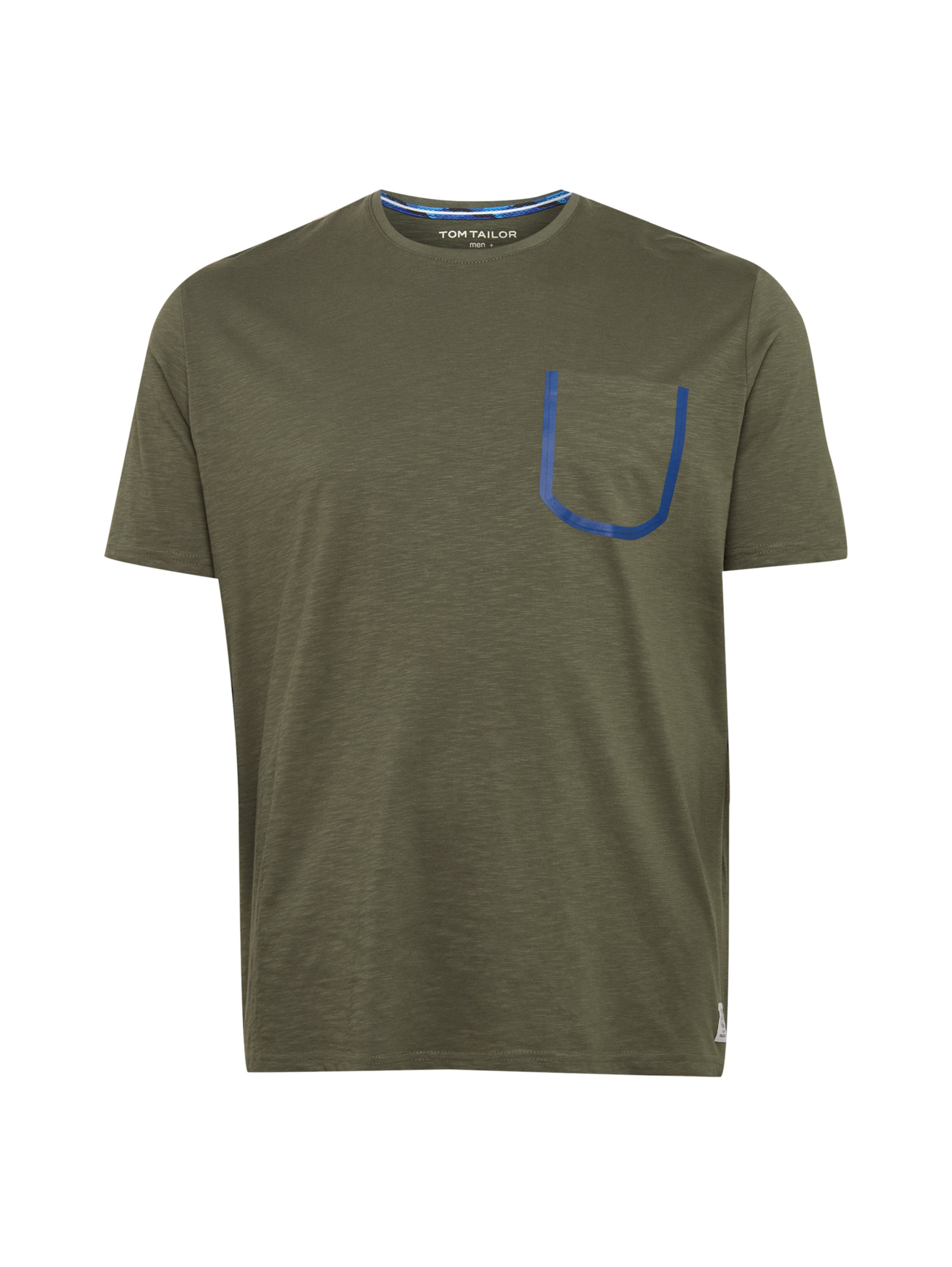 Tailor T In shirt BlauKhaki Tom UpVGjLqSzM