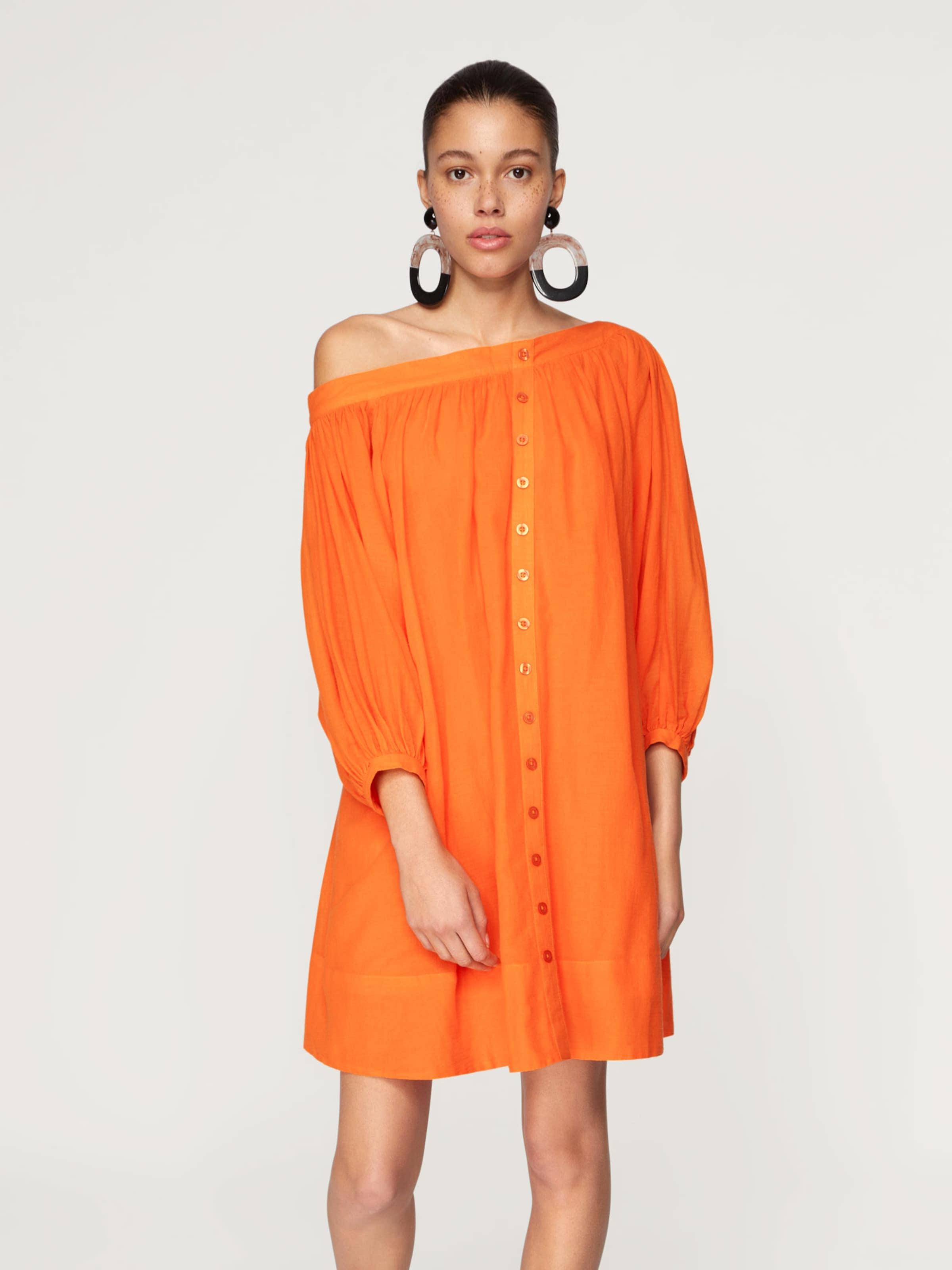Orange 'neele' Robe D'été Edited En 92EDHIW