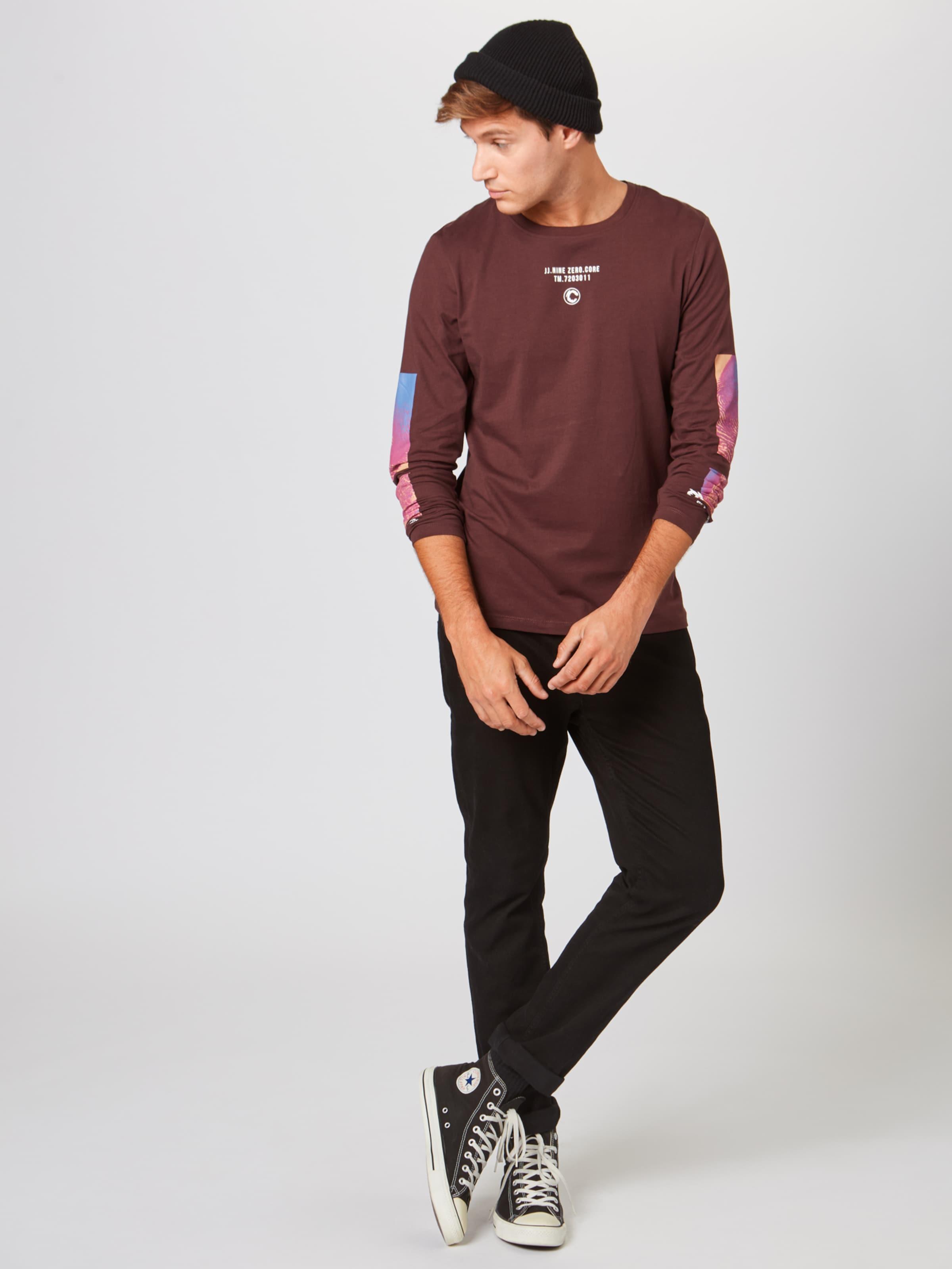 De shirt En Blanc Mélange 'jcoobre' Jones T Jackamp; CouleursNoir R4j5AL