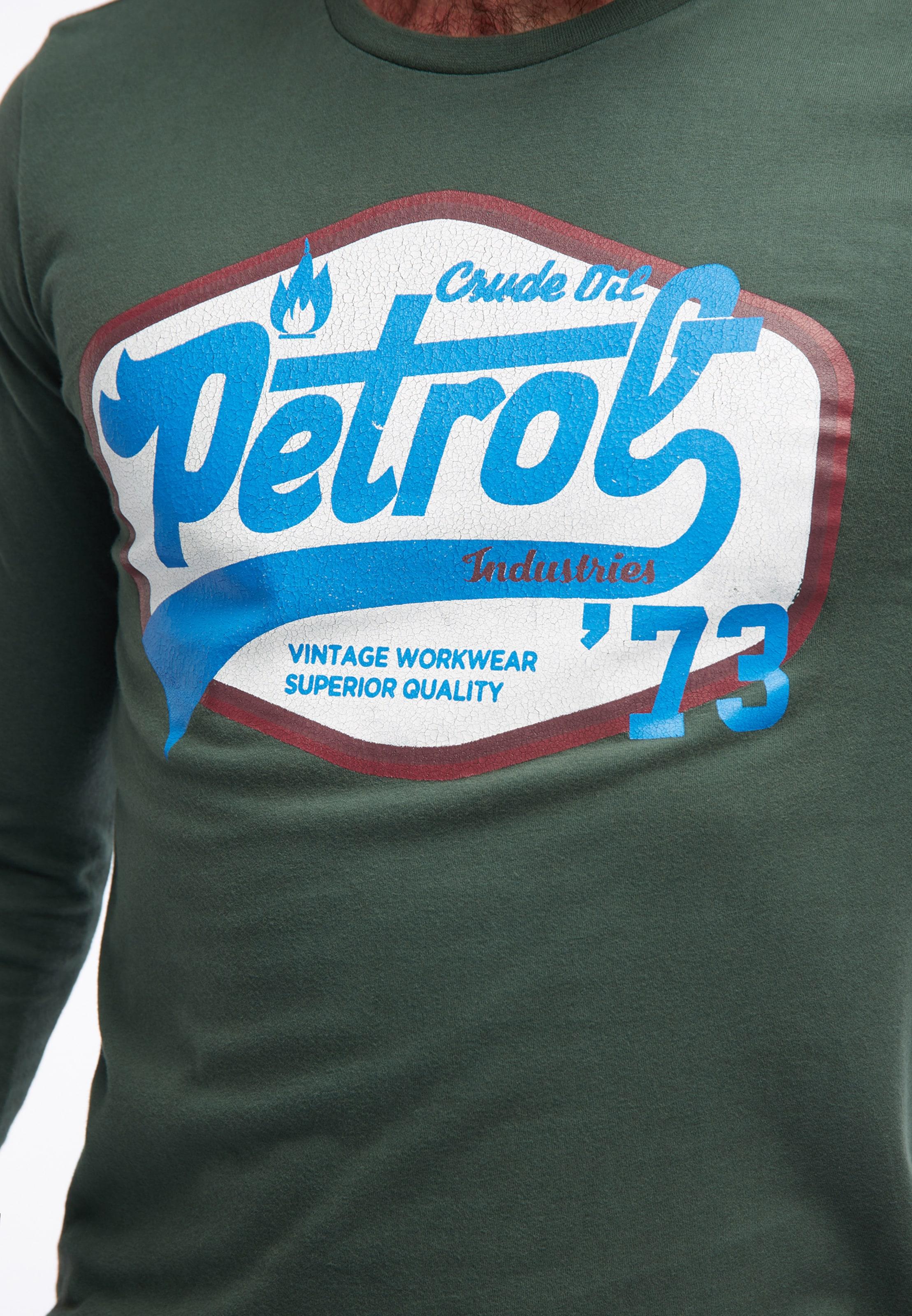BleuMélange Couleurs De En shirt Petrol Industries T Yf6gby7v