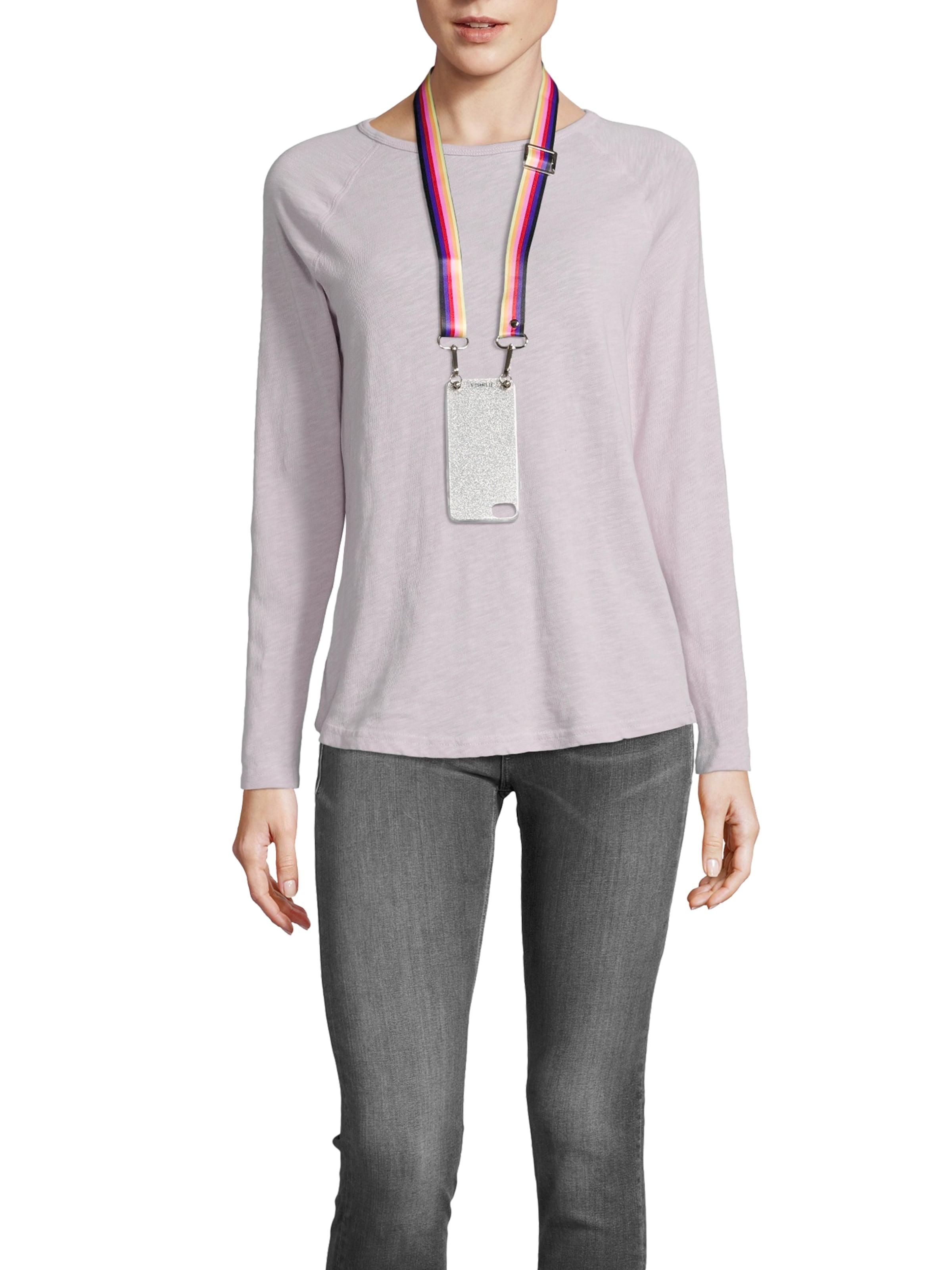 Strap' With En Iphoria Case Smartphone Mélange Protection De 'necklace Couleurs Pour 7ygIfYb6v