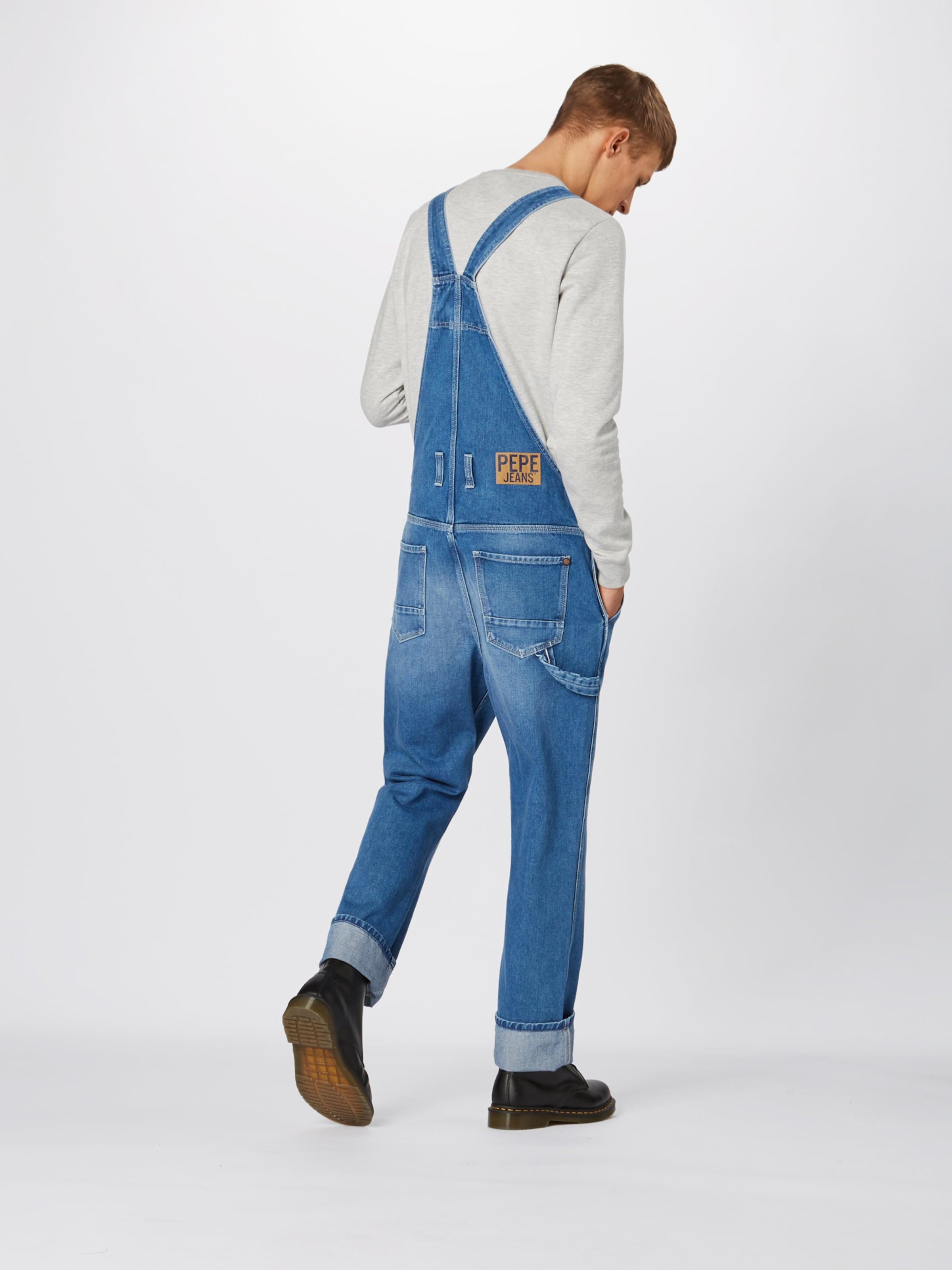 En Hammer' Bleu Pepe Denim 'dougie Salopette Jean Jeans QCxrdEBeWo