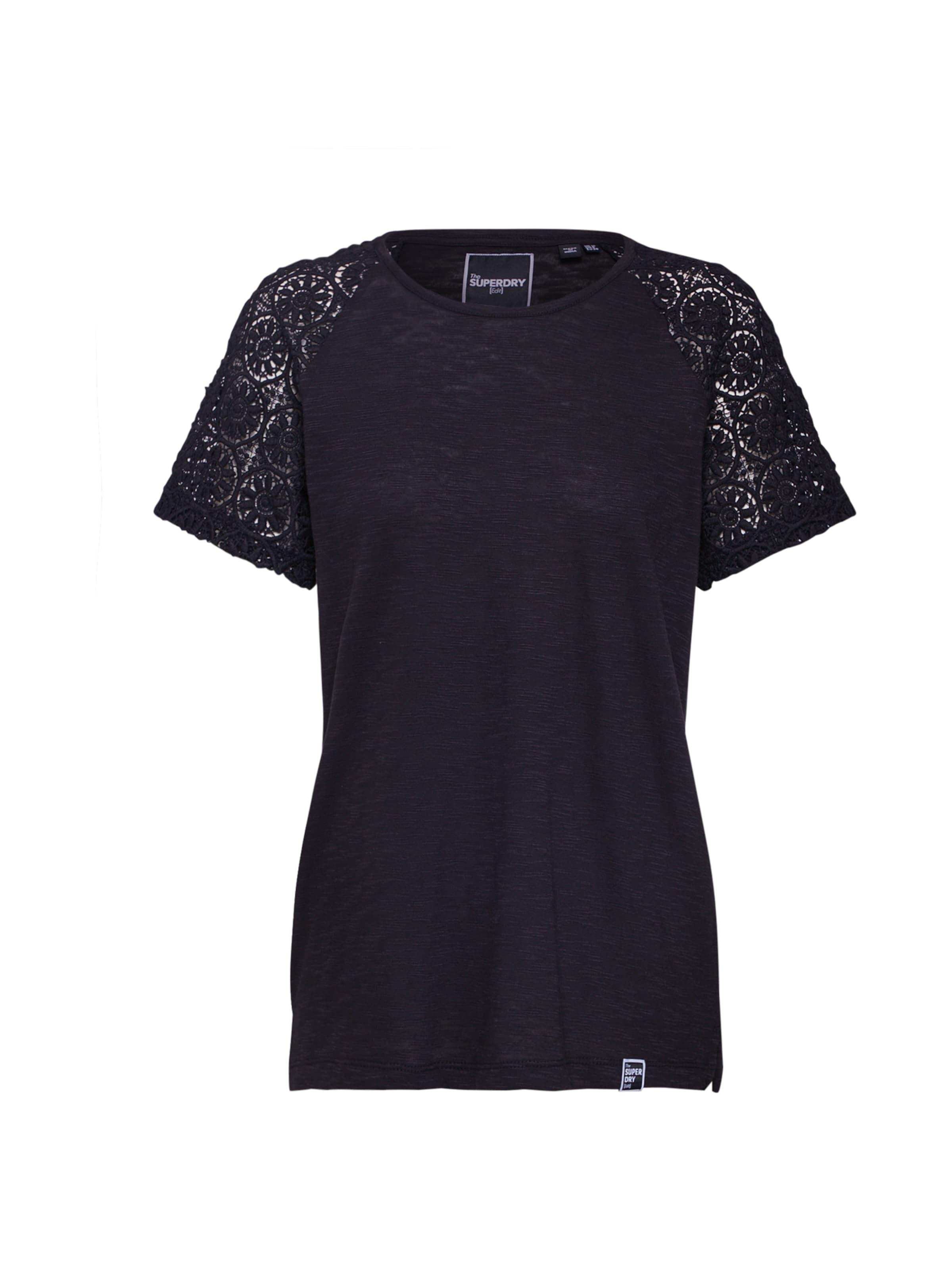 Superdry shirt 'elisa' Blanc En T DbIY29eWEH