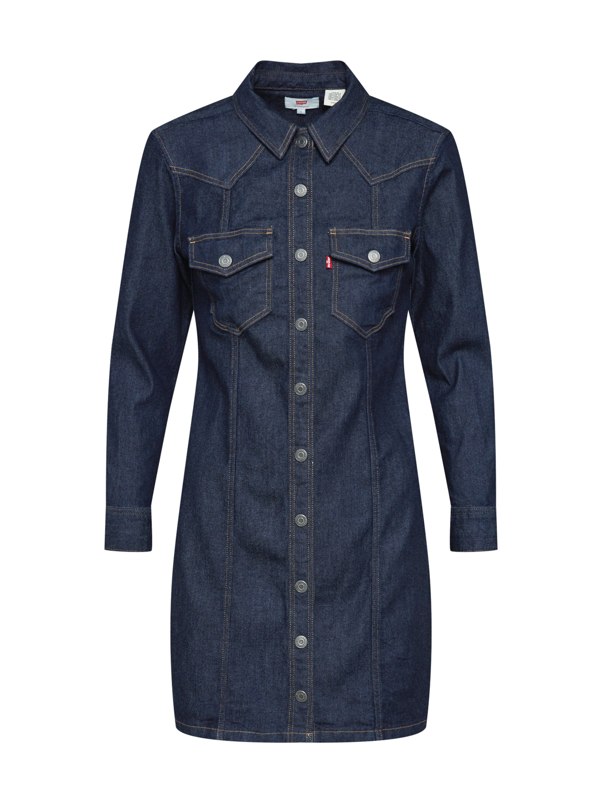 chemise Levi's Bleu En 'gia Western' Denim Robe zLpqGSVUM
