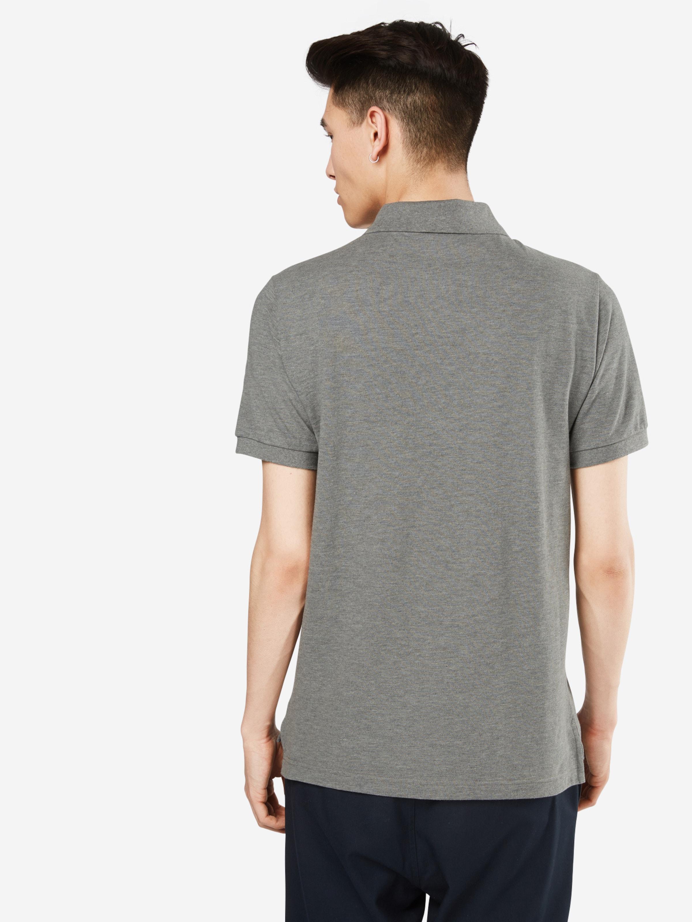 T Pique' basic shirt 'v Gap Blanc En gIYb76vfy