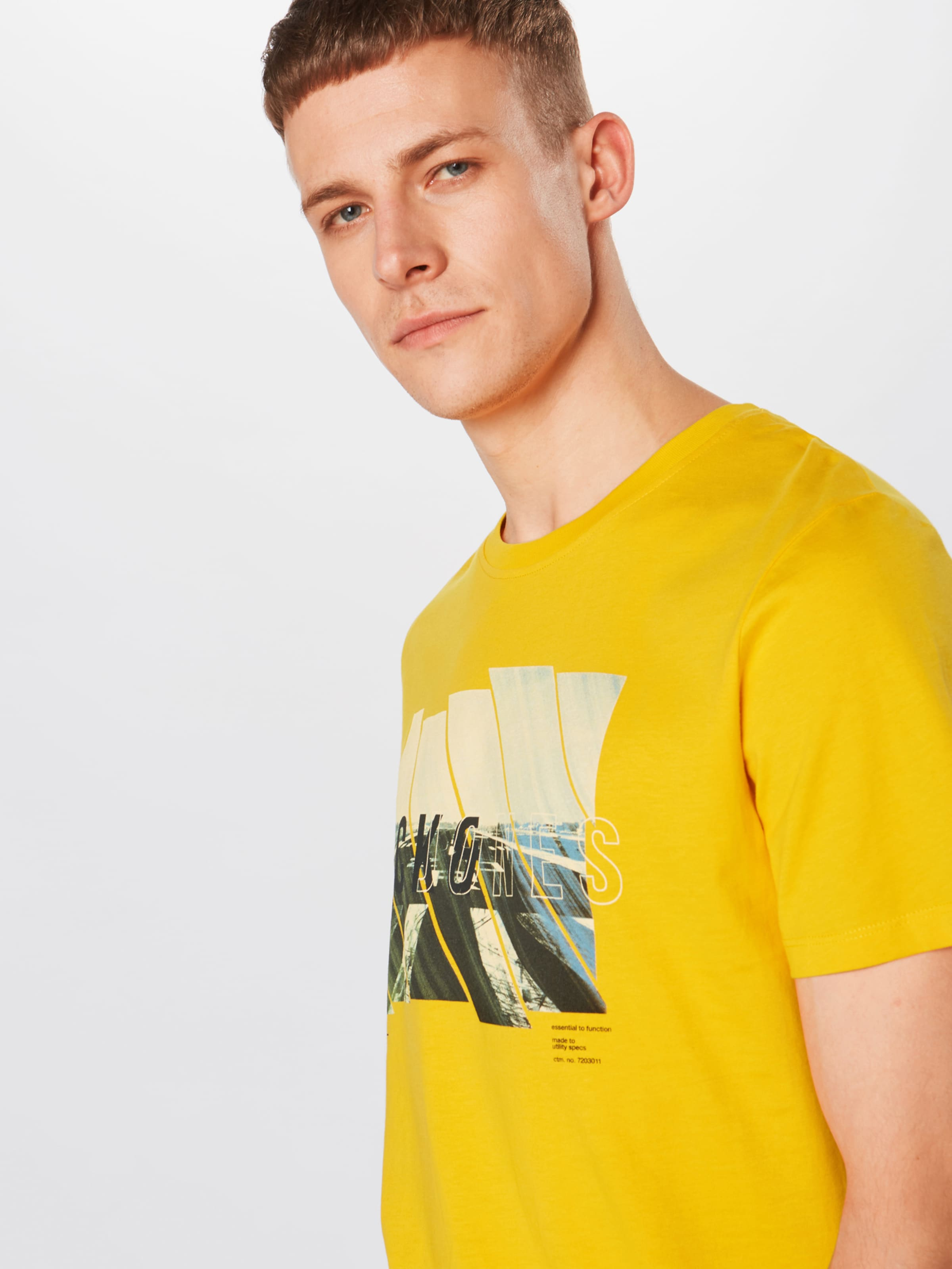 Jackamp; Jones T 'spring Tee' En shirt feel Bleu zVpSULqMG