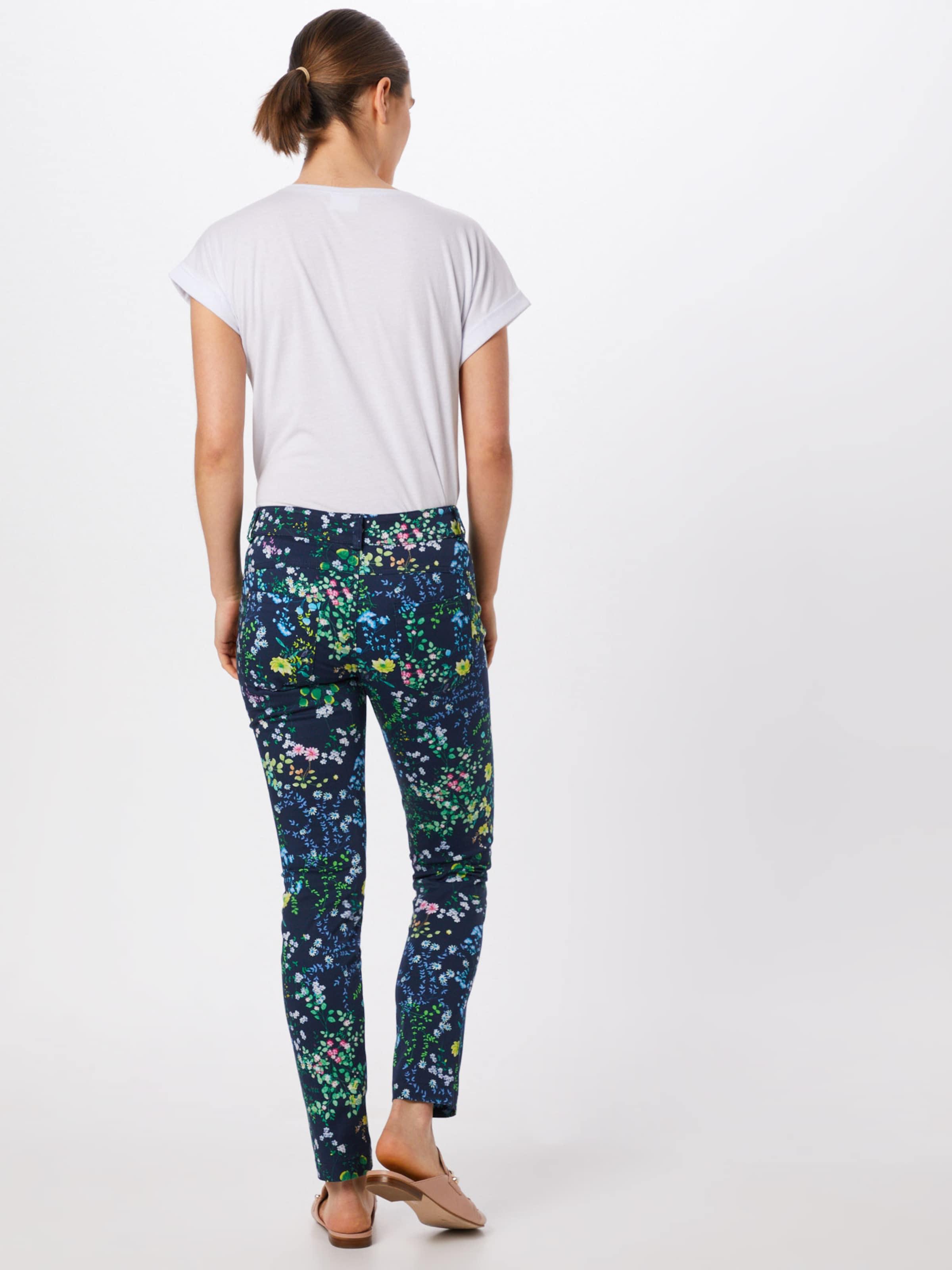 Casual En Flower Bleu One Foncé Slim' Street 'yulius Pantalon Fit PXkiZu