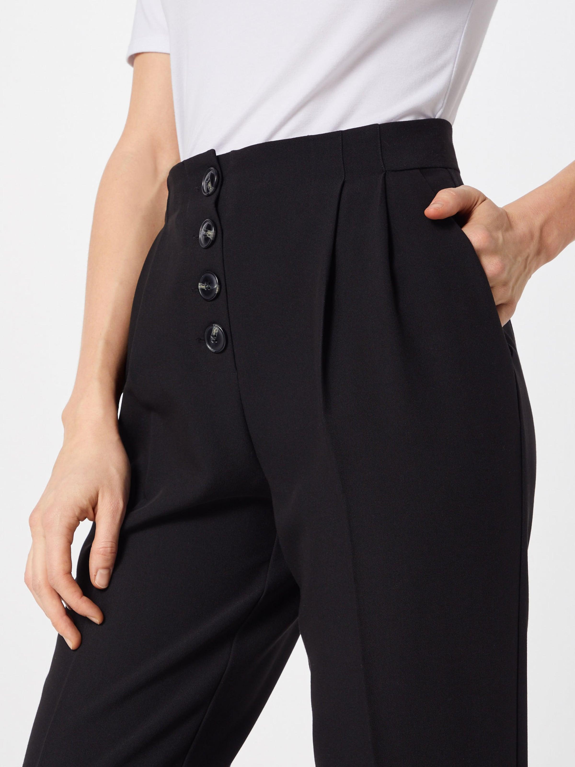 Noir En À Pantalon Pince 'onia' Pieces TJKc31lFu
