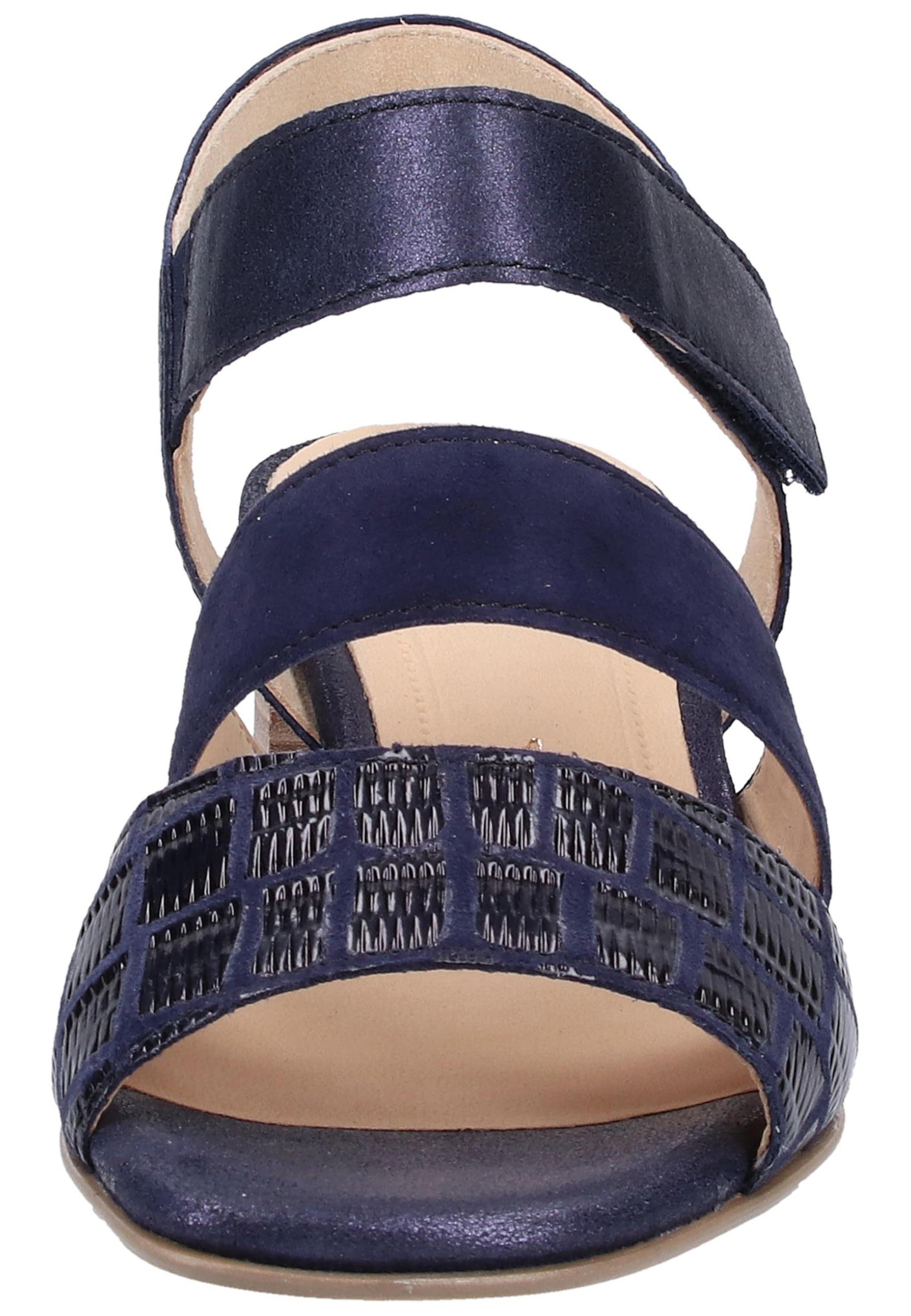 Sandales À Bleu Gabor En Lanières NuitFoncé v6IYybf7gm
