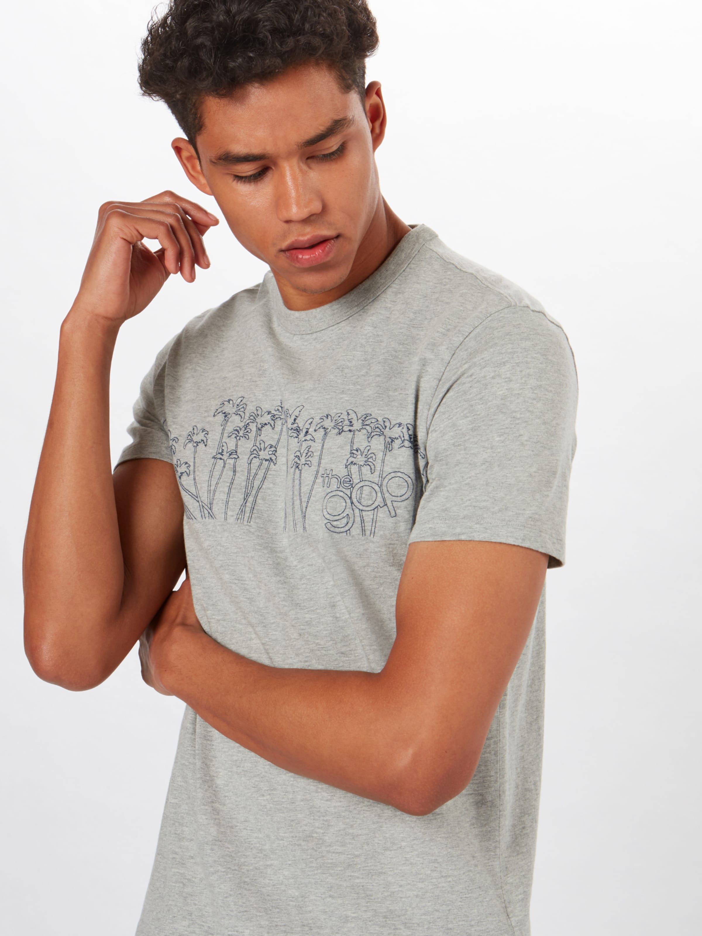 shirt En T 'palms' Indigo Gap k8nwO0NZPX
