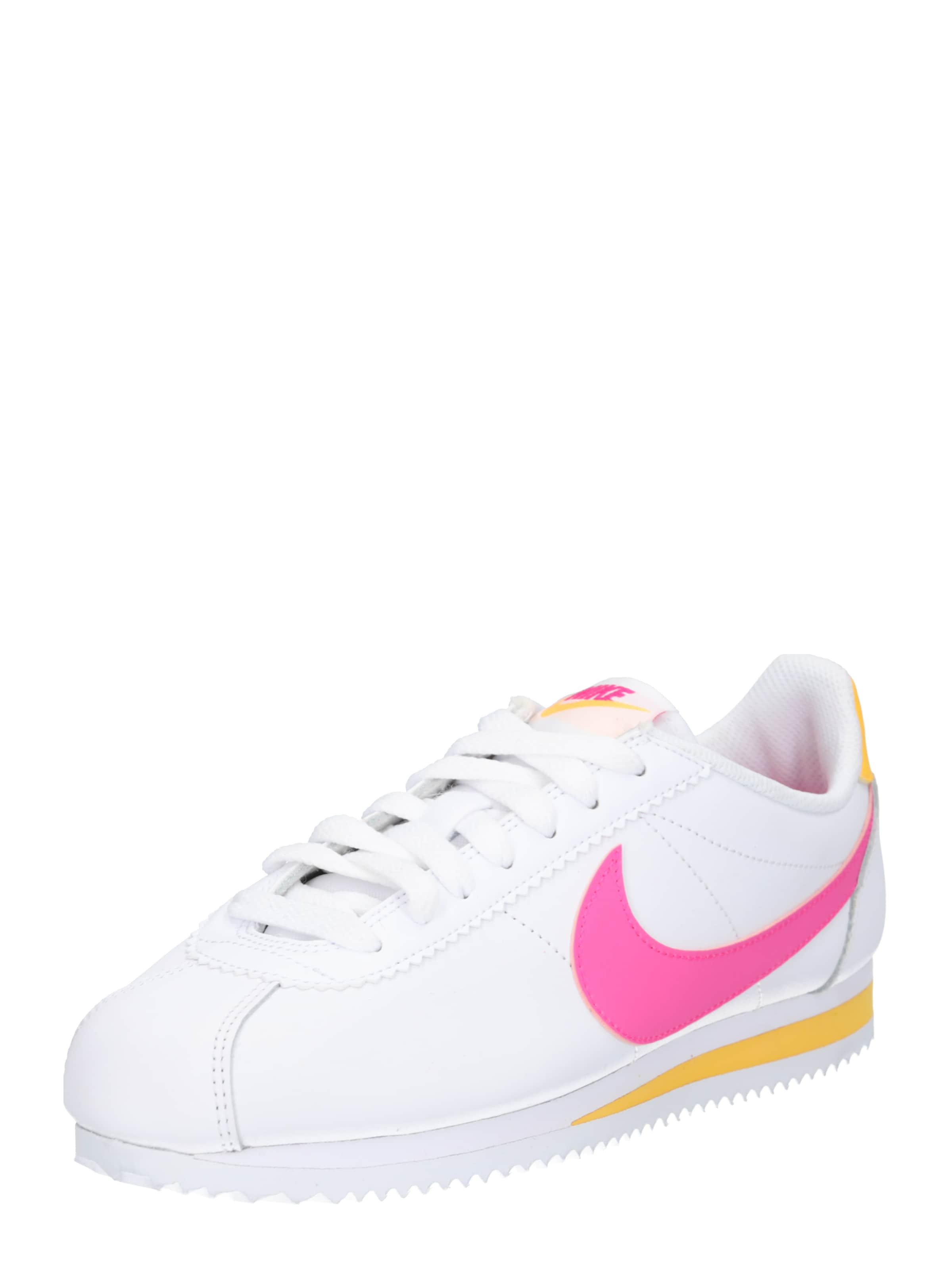 Nike Basses En OrangeRose 'classic Sportswear Baskets Néon Blanc Cortez' 7Ib6gvmfyY