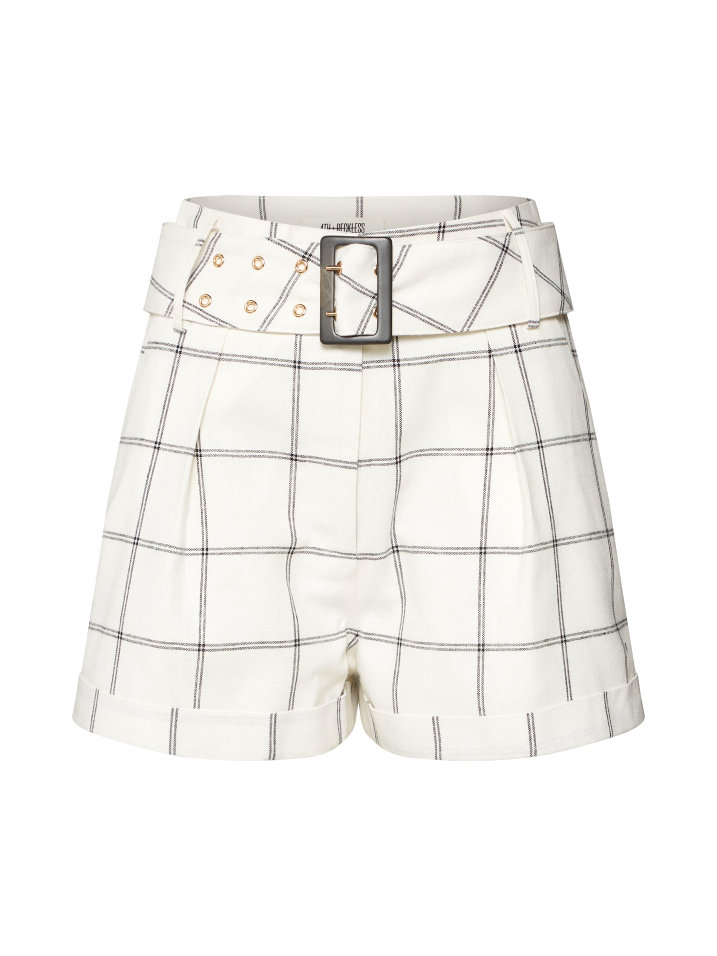 Short' Reckless Pantalon 'corin En 4thamp; NoirBlanc nO0Pwk