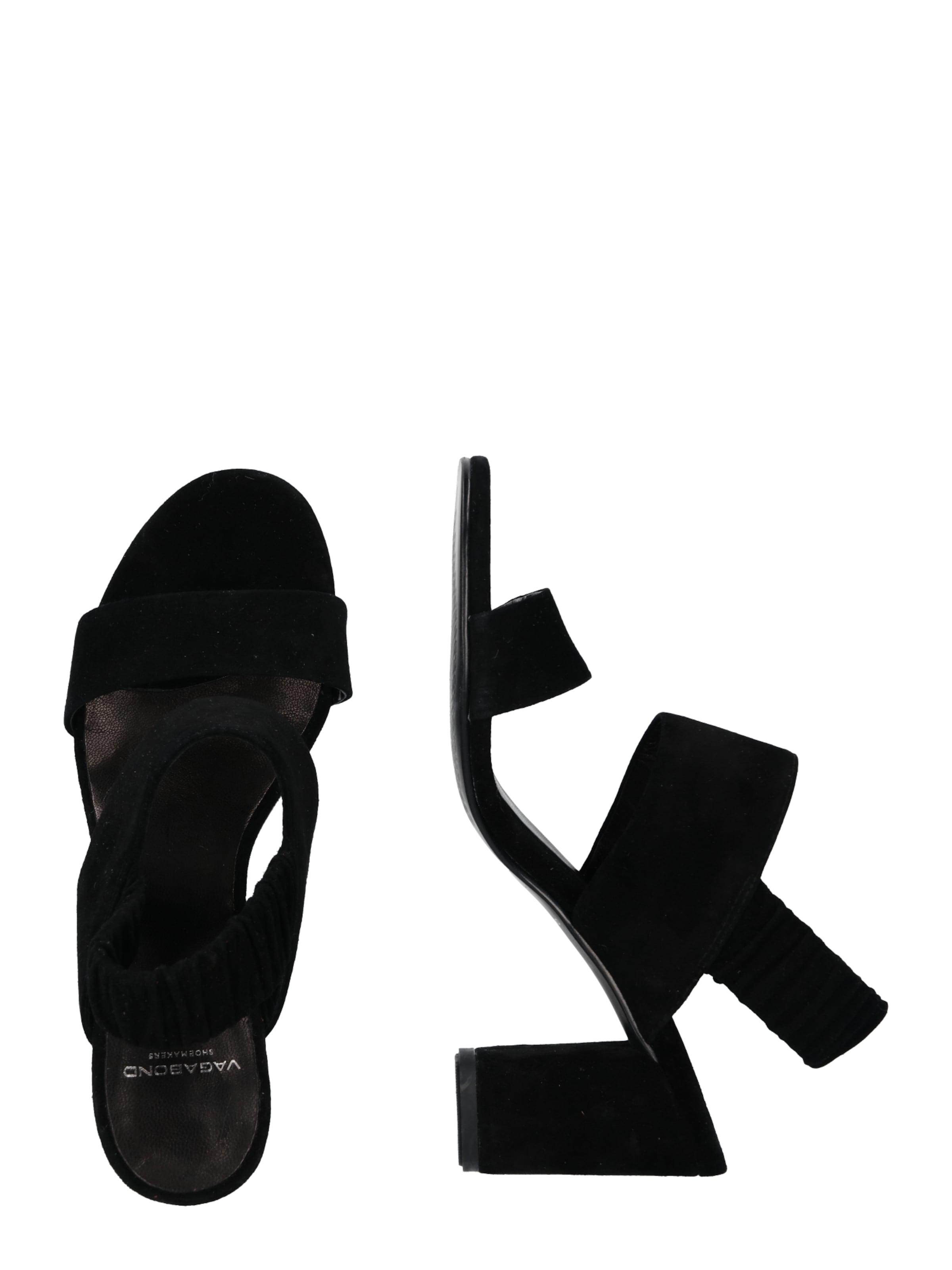 Vagabond À Sandales Shoemakers Noir 'penny' En Lanières CoredxB