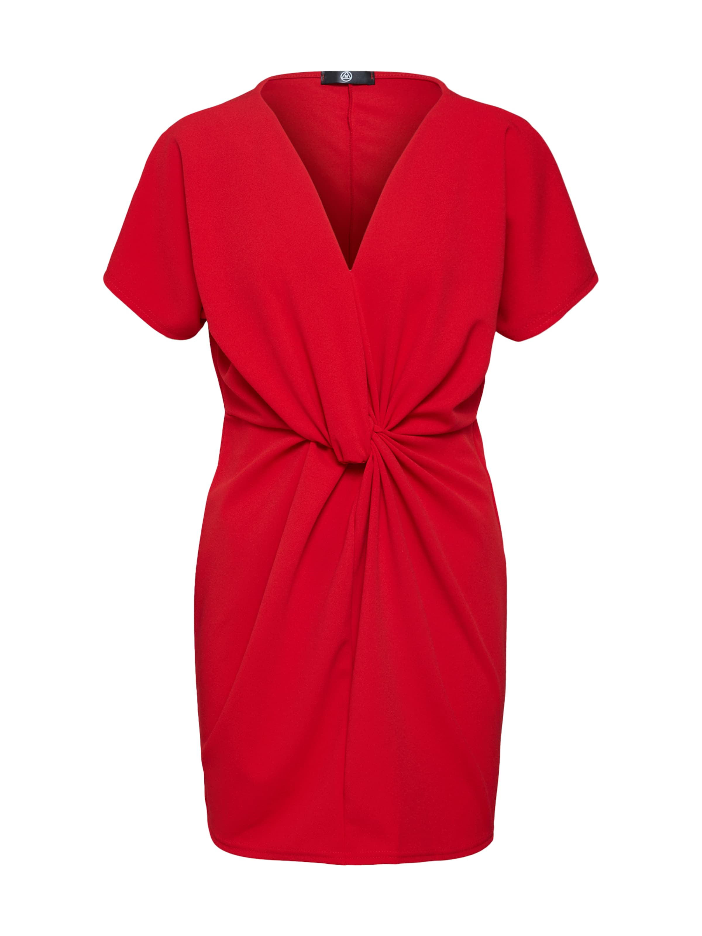 Rouge Robe Shift 'knot Missguided Front En Dress' Aq4jL53R