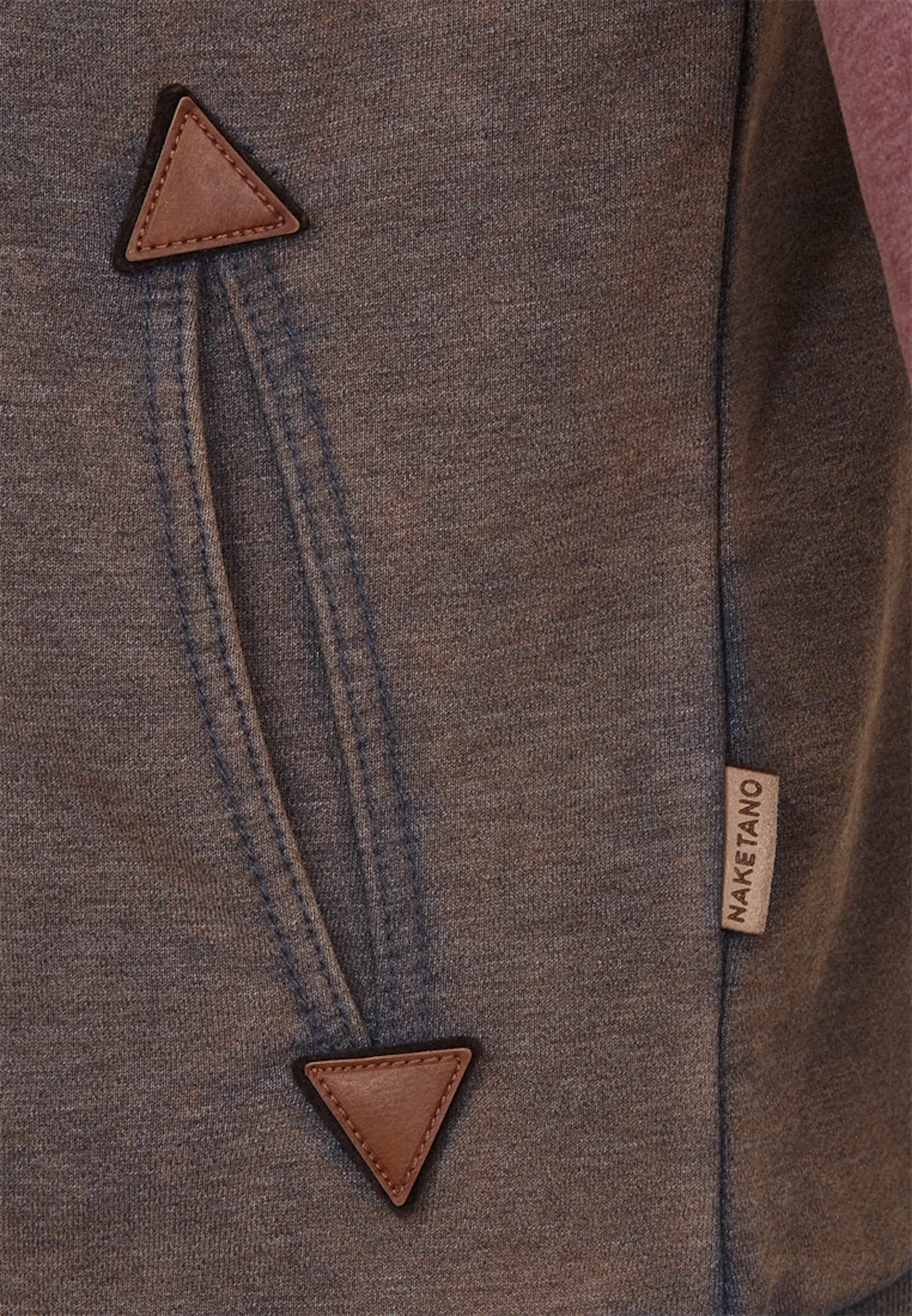 Naketano Baggy Shorts' Sweat shirt TurquoiseMarron 'black En Shoesamp; uJclK5T13F
