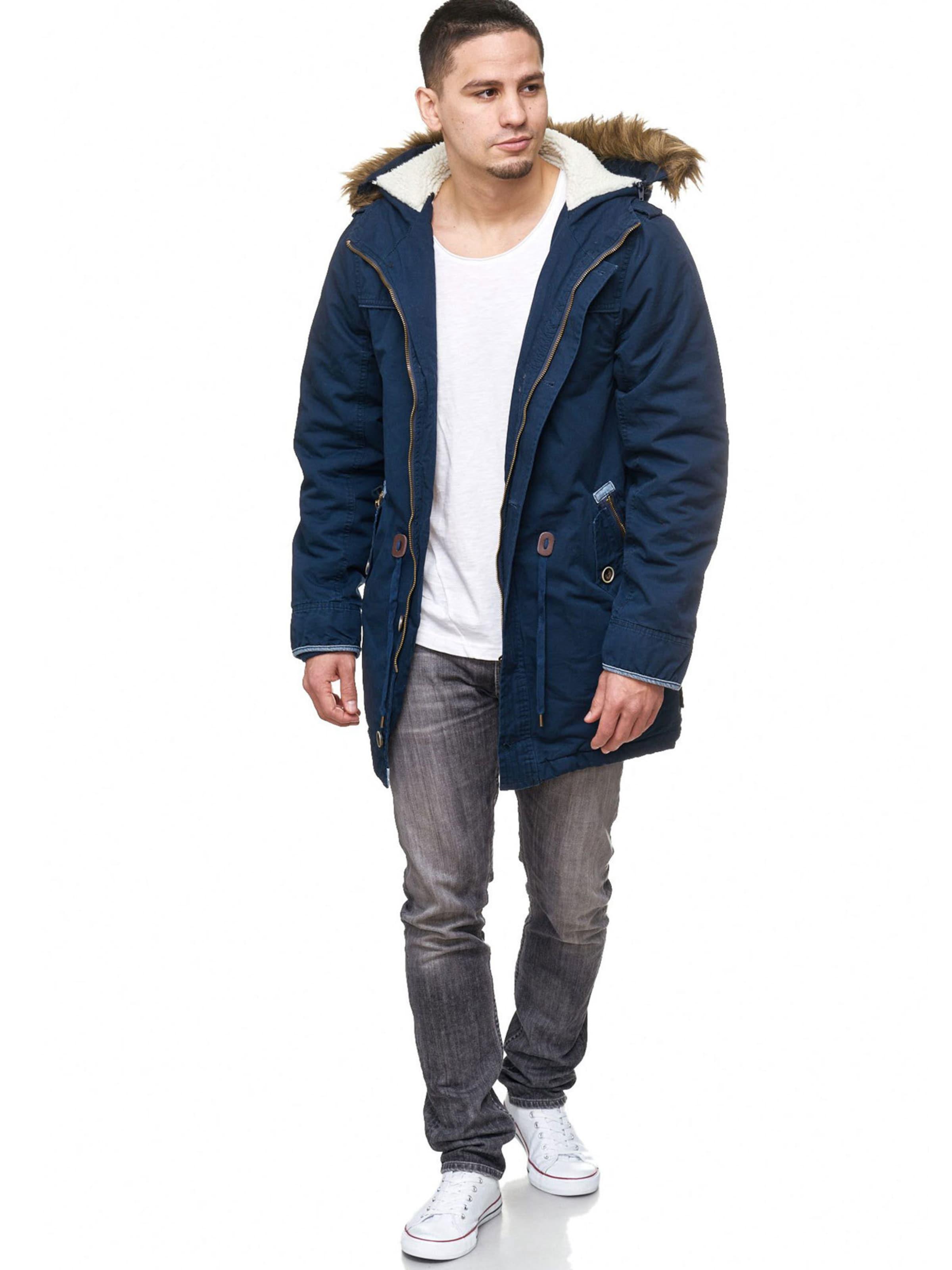 Jeans Bleu Foncé Indicode D'hiver Parka En qMSUGpzjLV