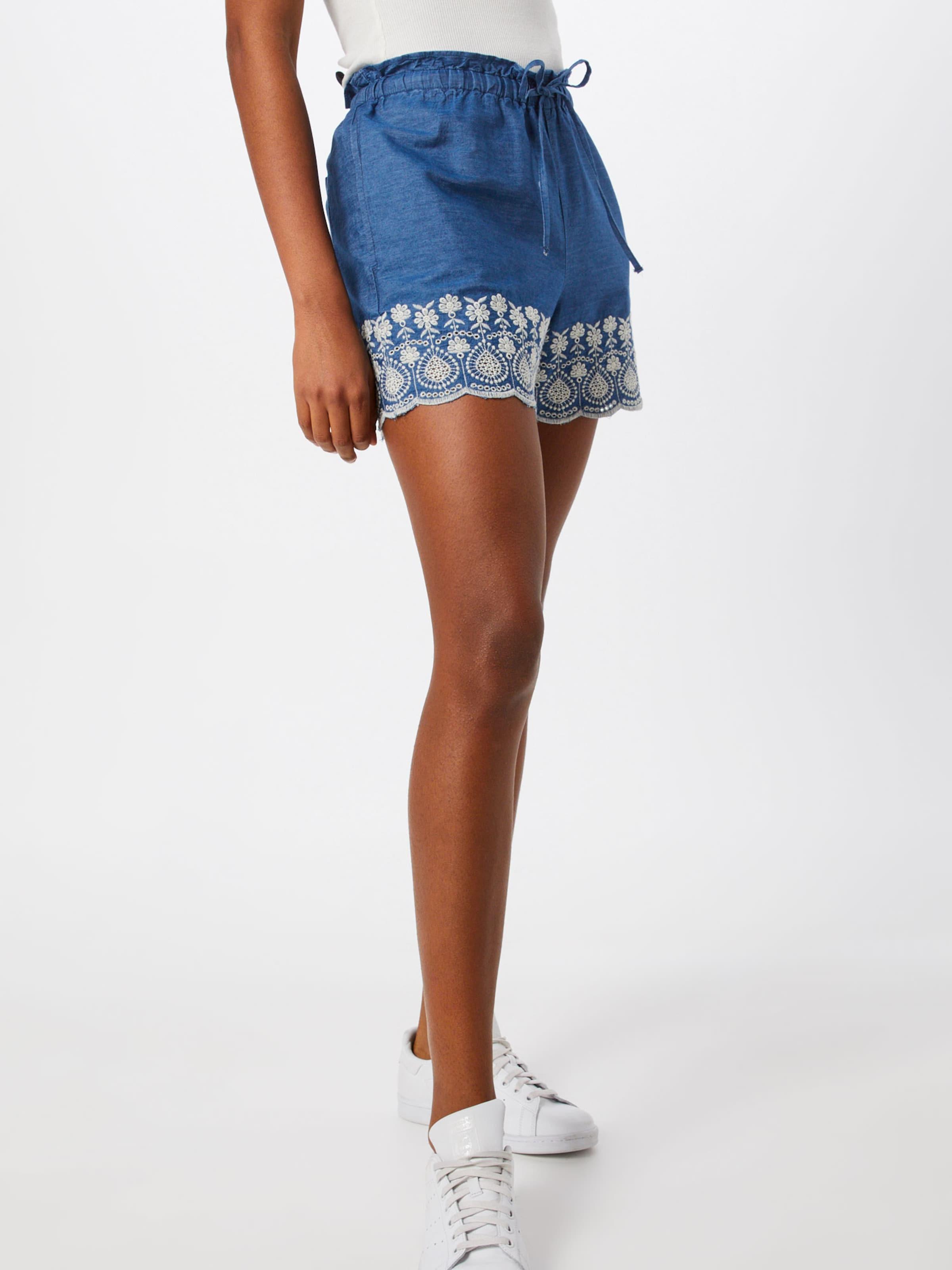 'embro Jean En DenimFoncé Short' By Esprit Edc Bleu 8kOnP0wX