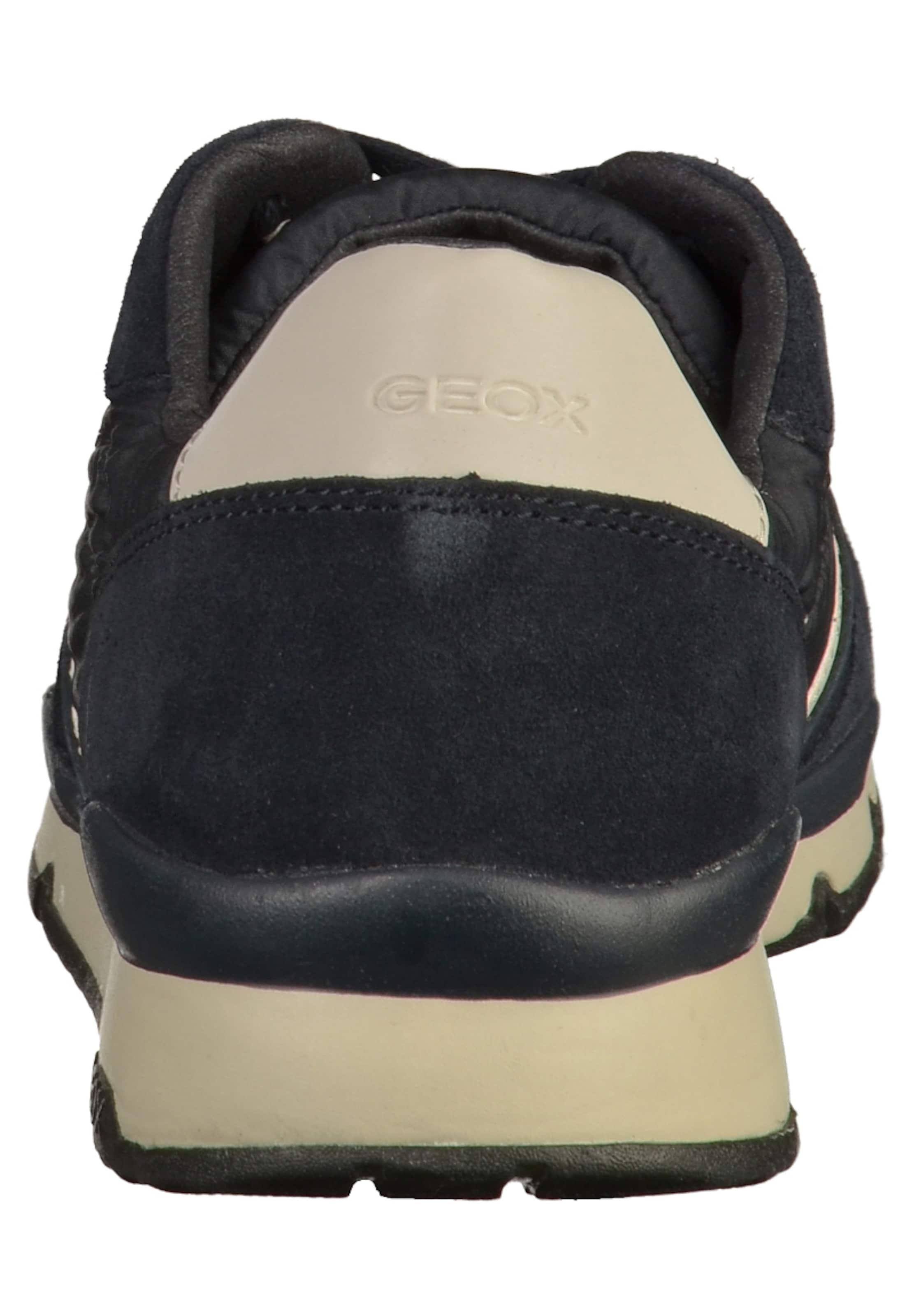 Geox Baskets Bleu Cassé En MarineBlanc Basses XOuTZPki