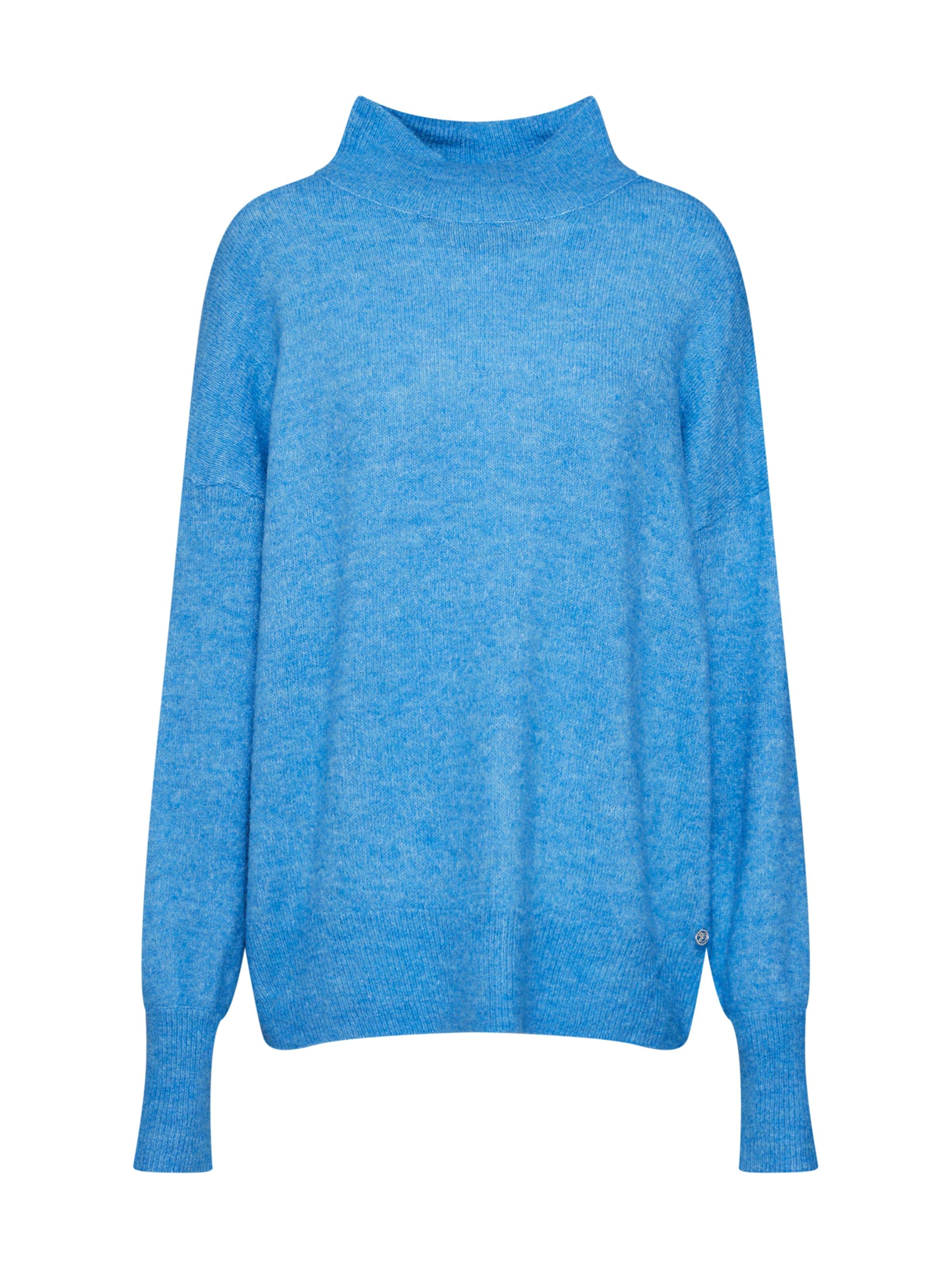 Bleu Denim Neck Tailor Pull En Pullover' Tom Ciel 'cozy over Turtle odxeCB