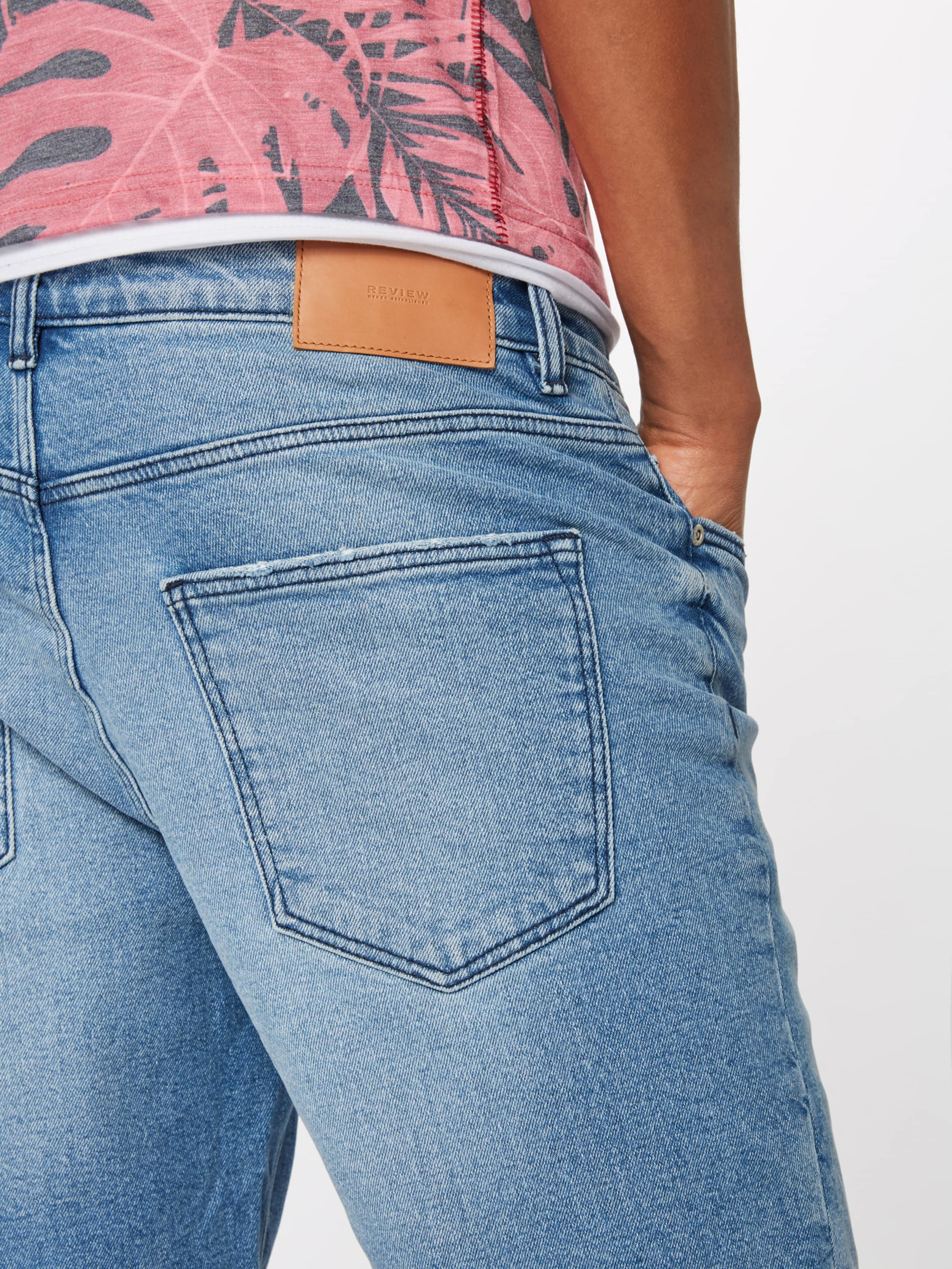 Review En Jean Denim Bleu 0nOkwP