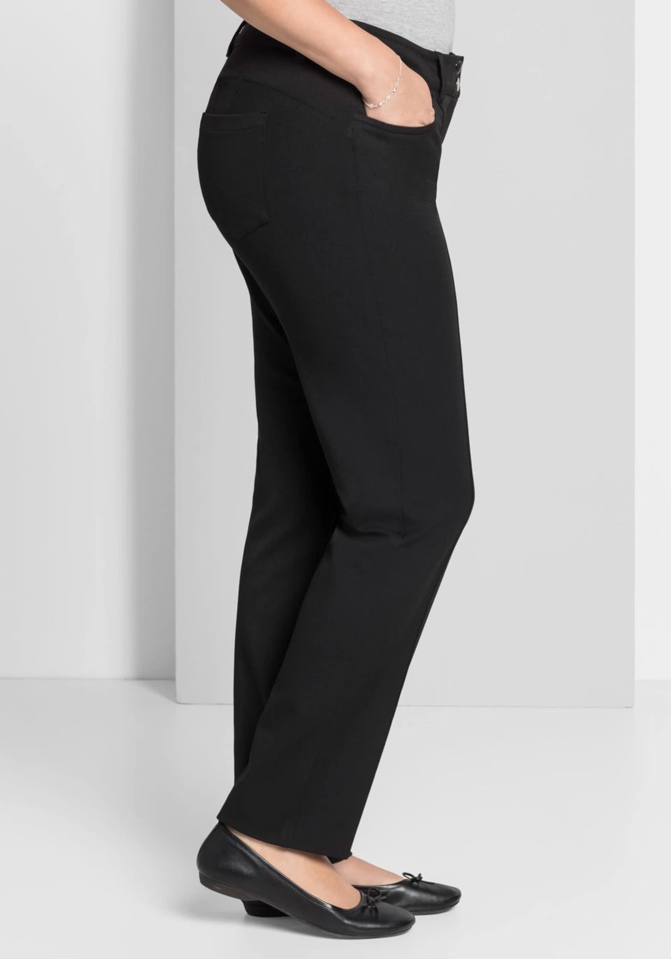 Schwarz Sheego Style In Style Bügelfaltenhose Sheego In Bügelfaltenhose Schwarz gyb6IYf7v