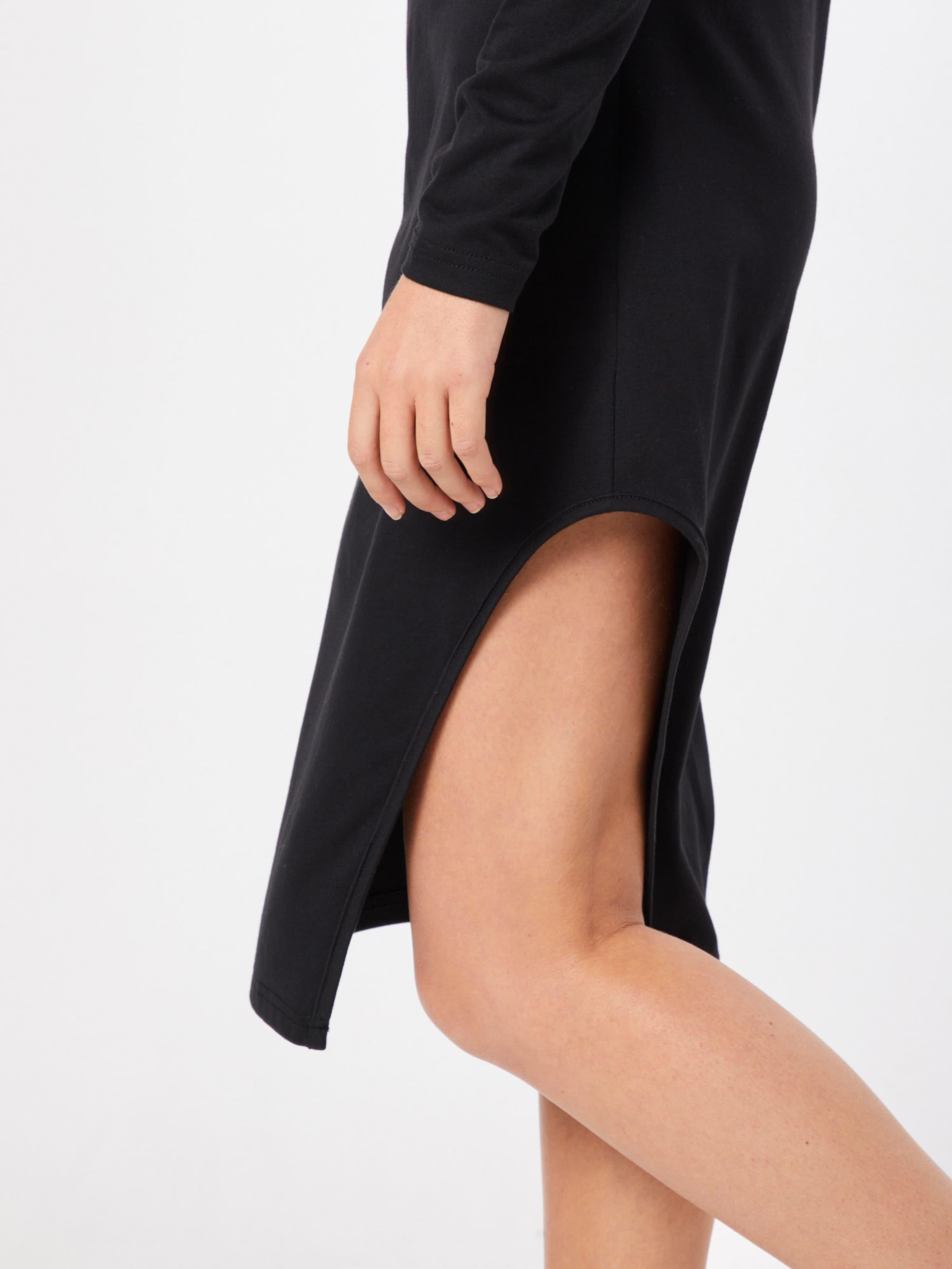 Robe Dress Belt' En Noir Missguided Split Midi 'side With fb6g7y