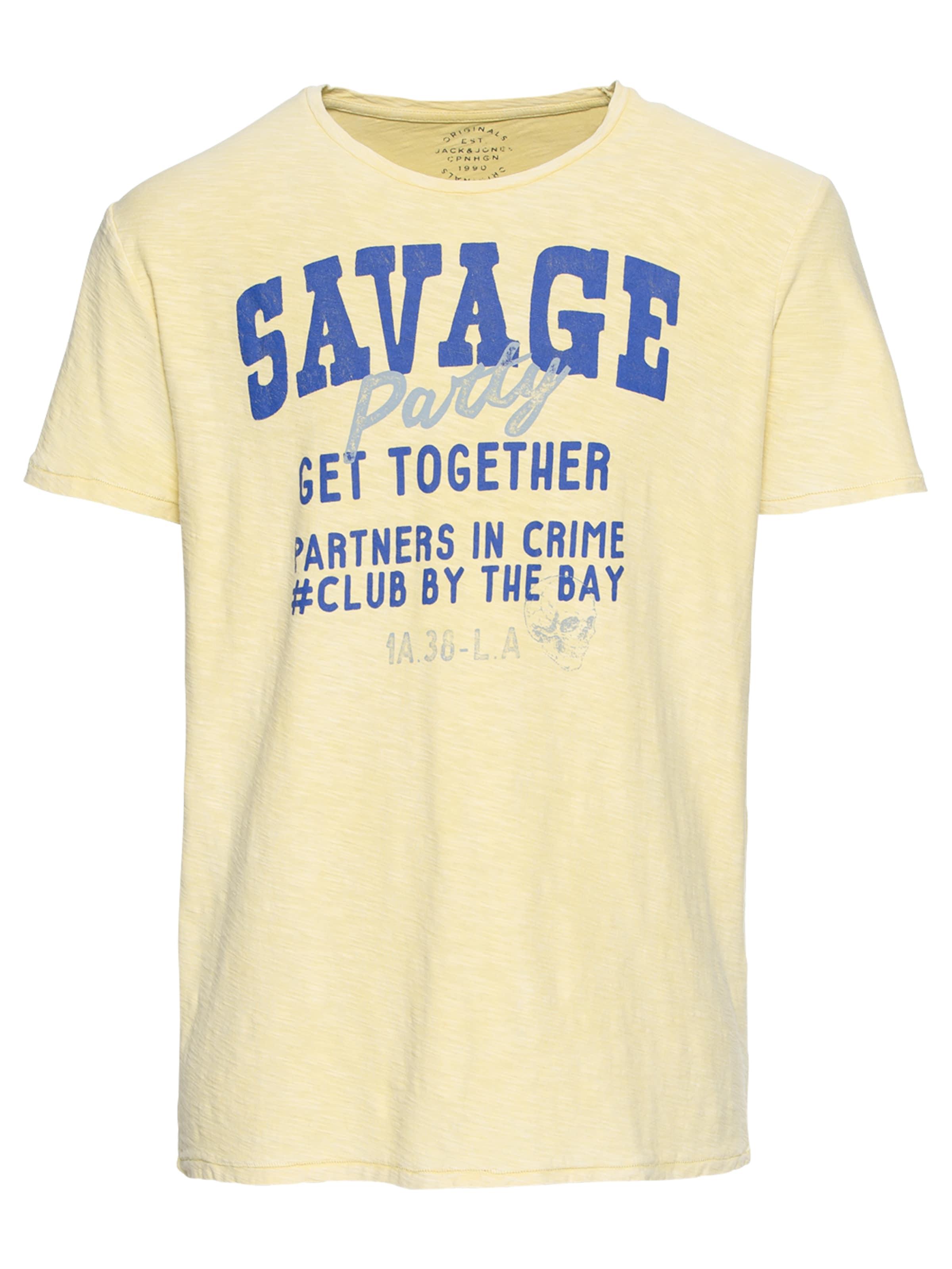 Jones 'jordaze Neck' En Crew BleuJaune shirt Jackamp; Clair Ss Tee T 7gf6YbvIy