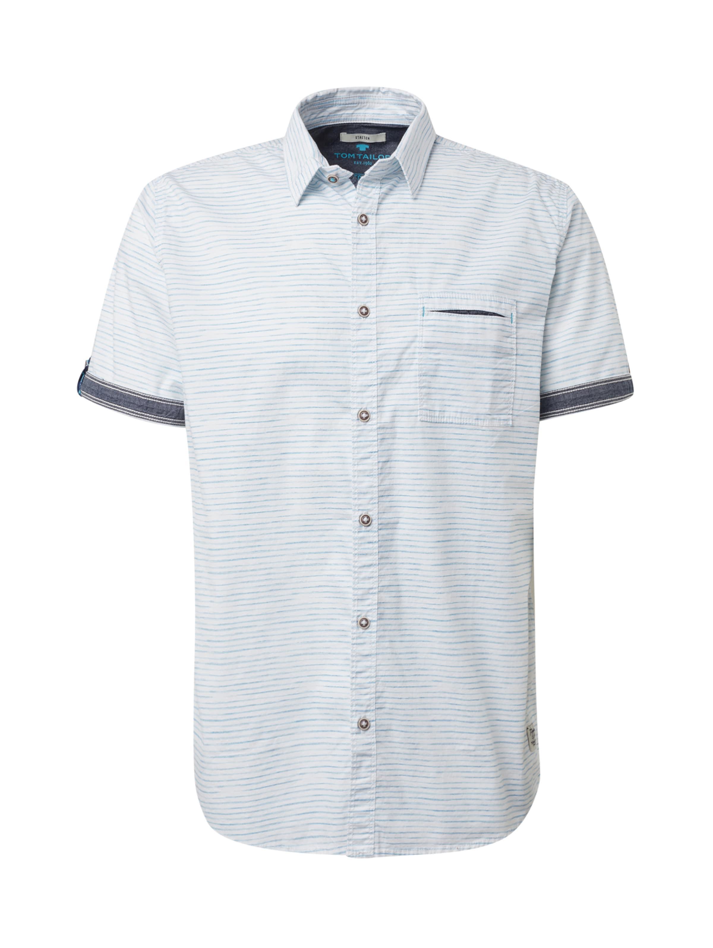 Hemd In Weiß TaubenblauHellblau Tailor Tom QxBWCdero