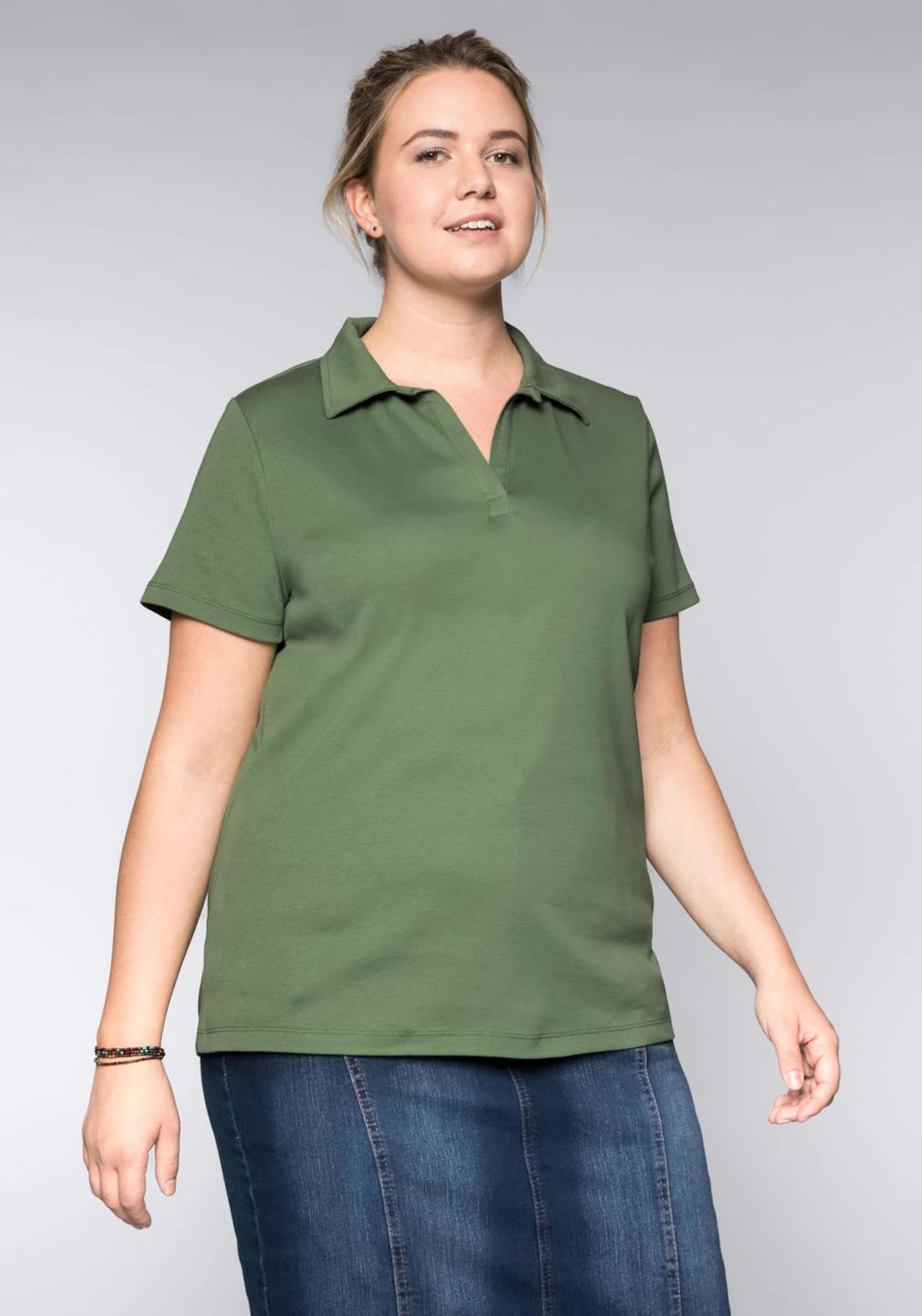 Casual shirt T In Khaki Sheego rBCxQdWoe