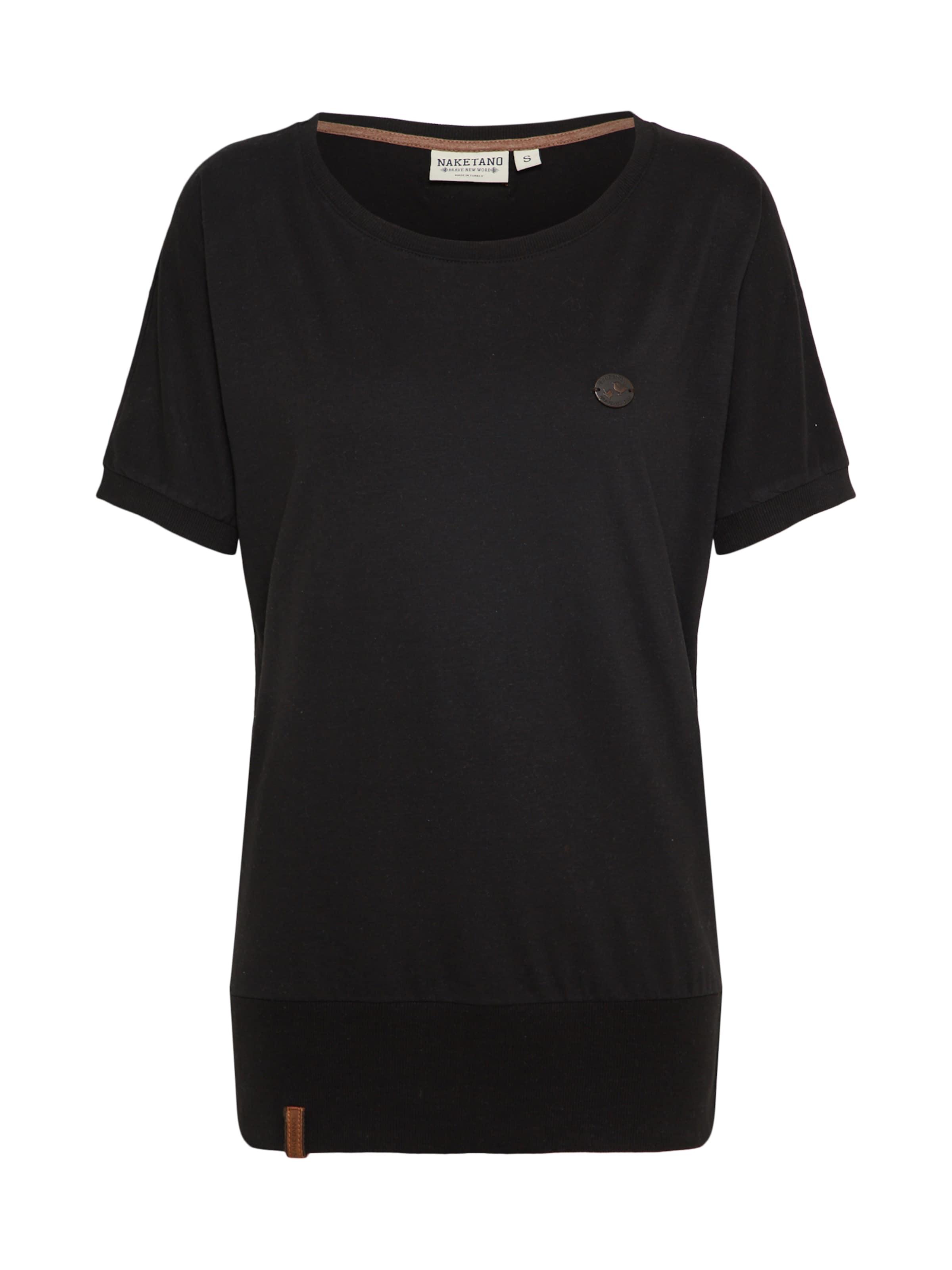 shirt Wit Indigo It' Naketano 'baunxxx En T wvO0ymN8n