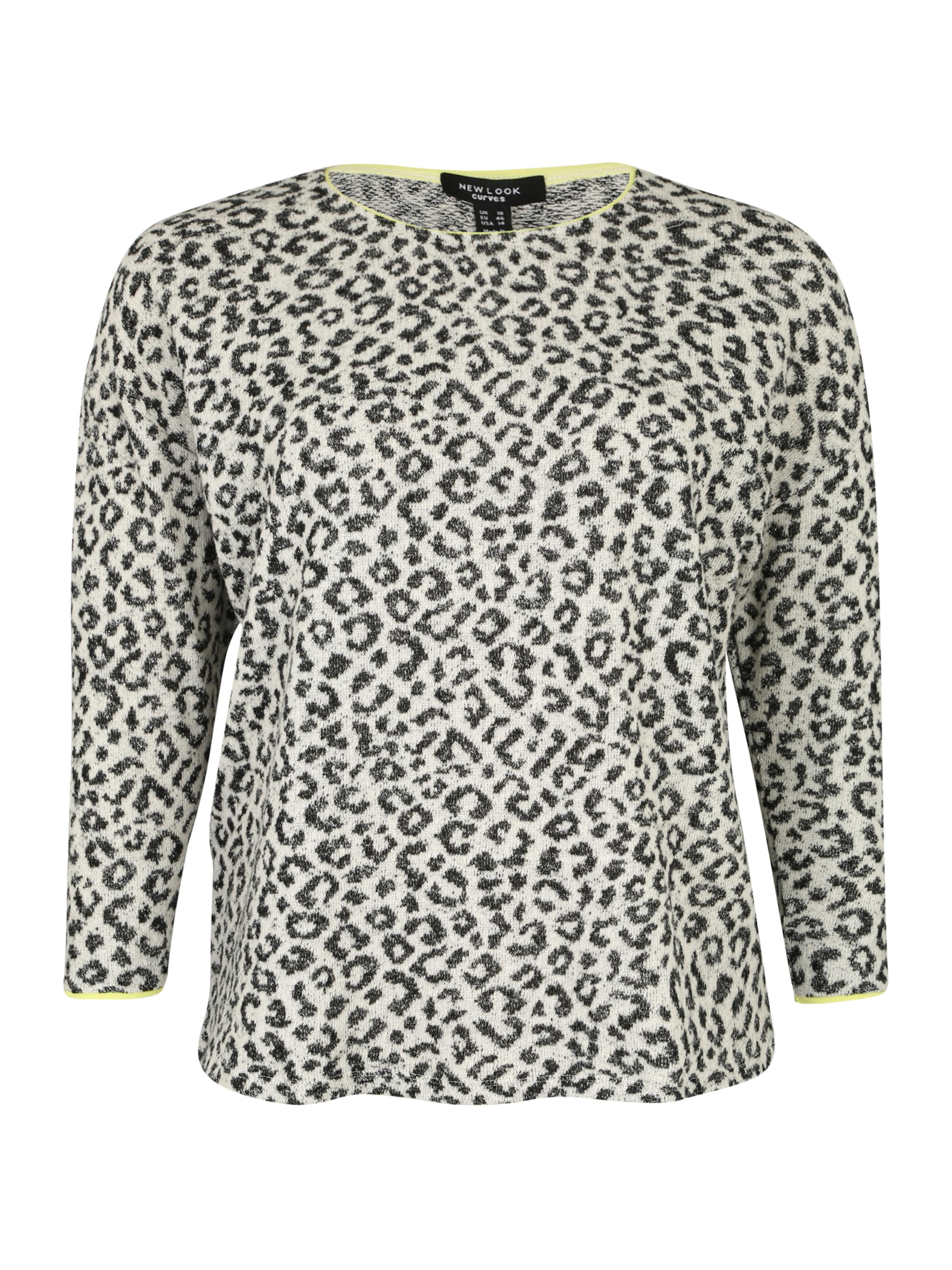Grau New Glitter In Pullover Curves P23' 'animal Look IWED2H9