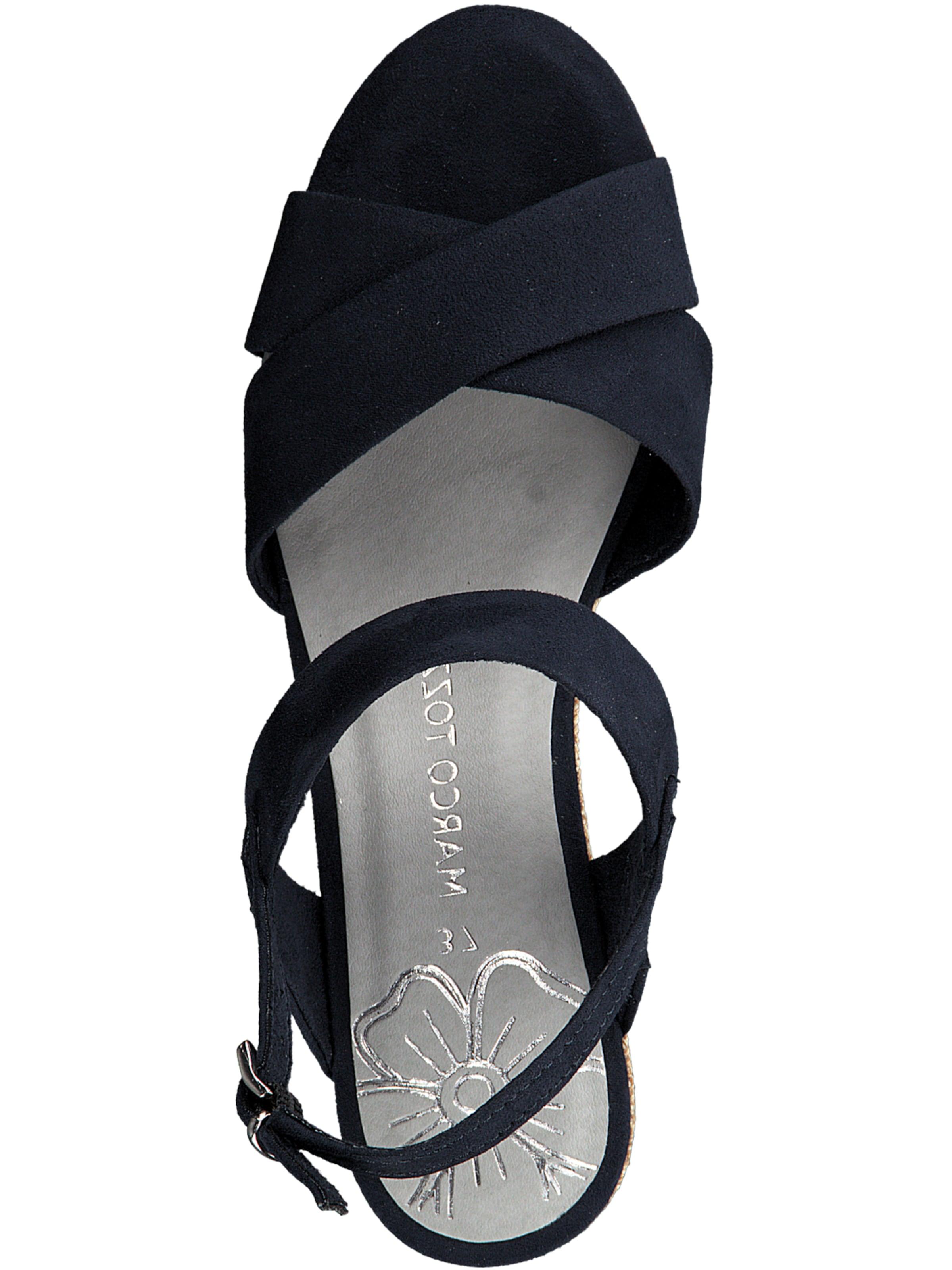 Sandales Bleu En Marine Marco Tozzi rdshQt