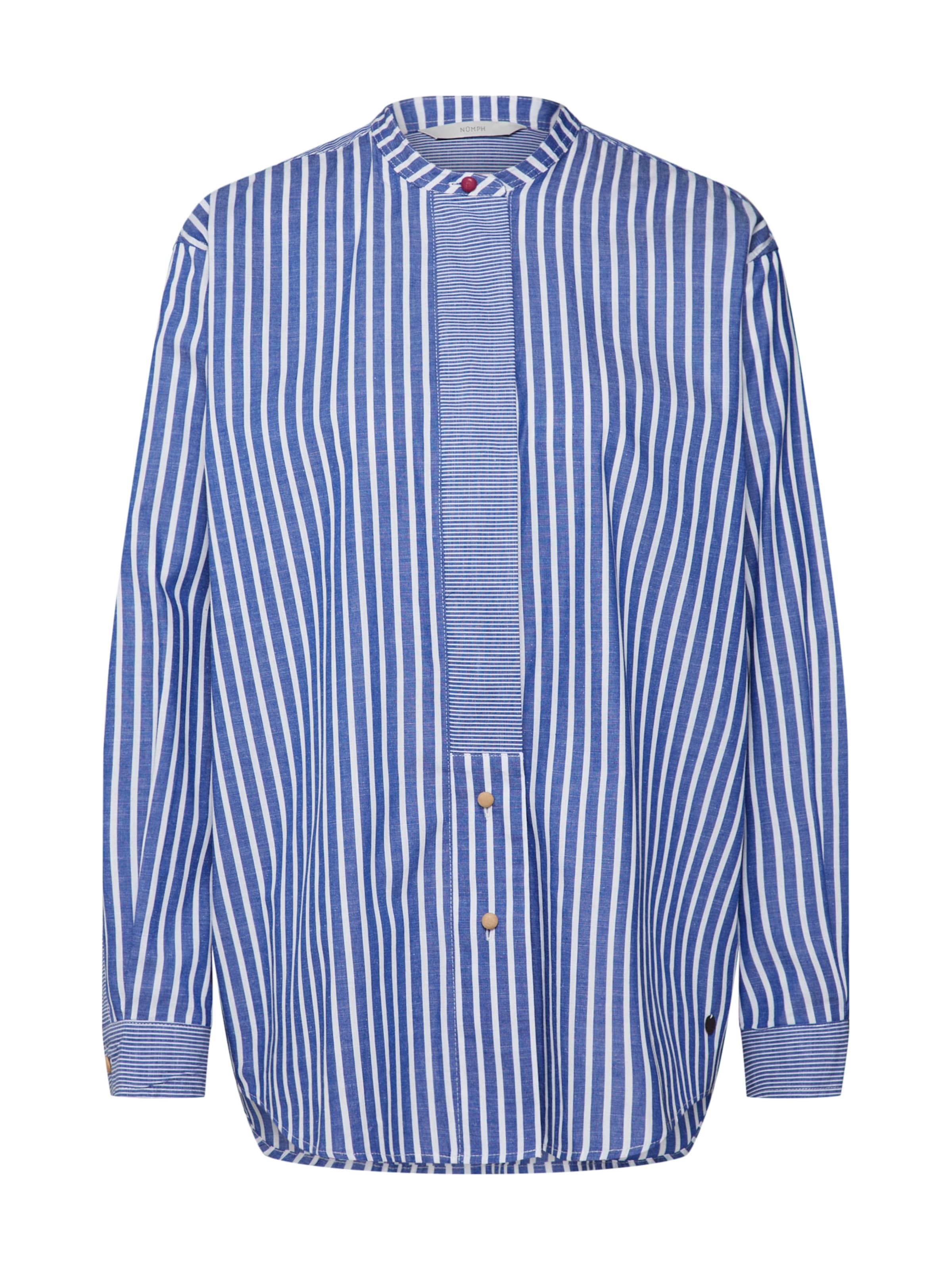 Nümph 'indie Chemisier En BleuBlanc Shirt' 7Ybvf6gy