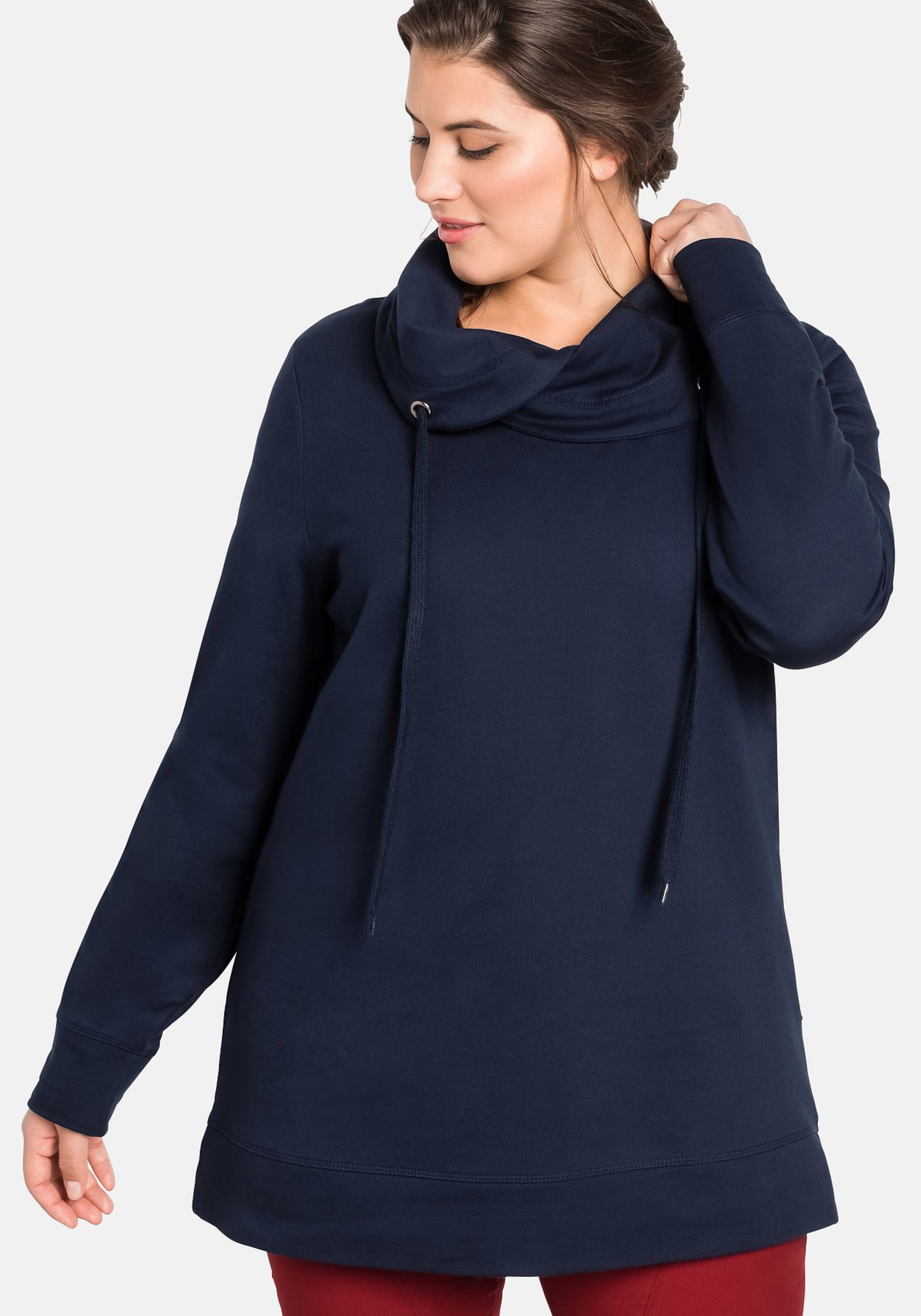 Casual In Casual Casual Marine Sheego Sweatshirt In Marine Sheego Sweatshirt Sheego UpLqMVGSz