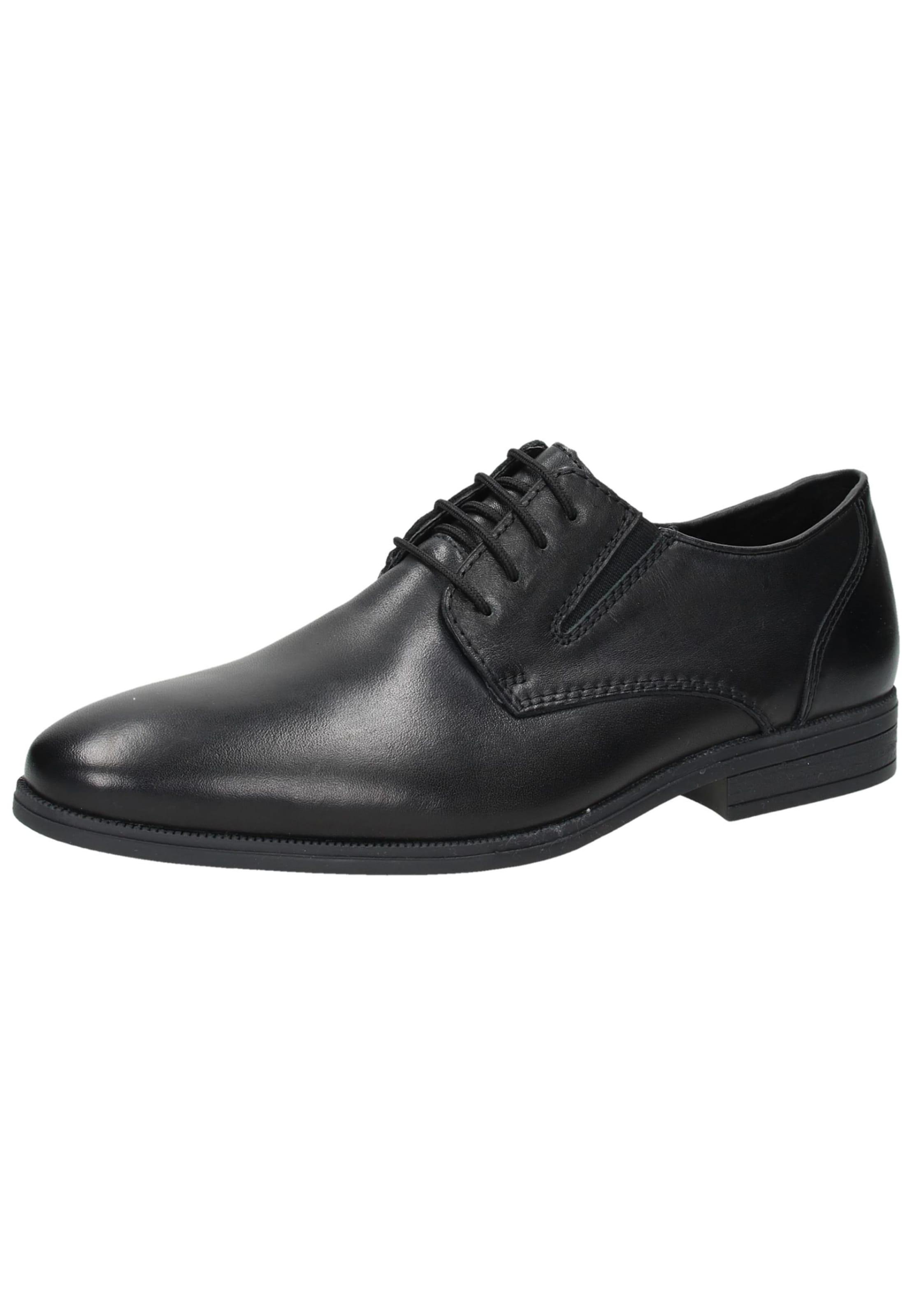 En Noir Rieker À Lacets Chaussure 6Ybyvgf7