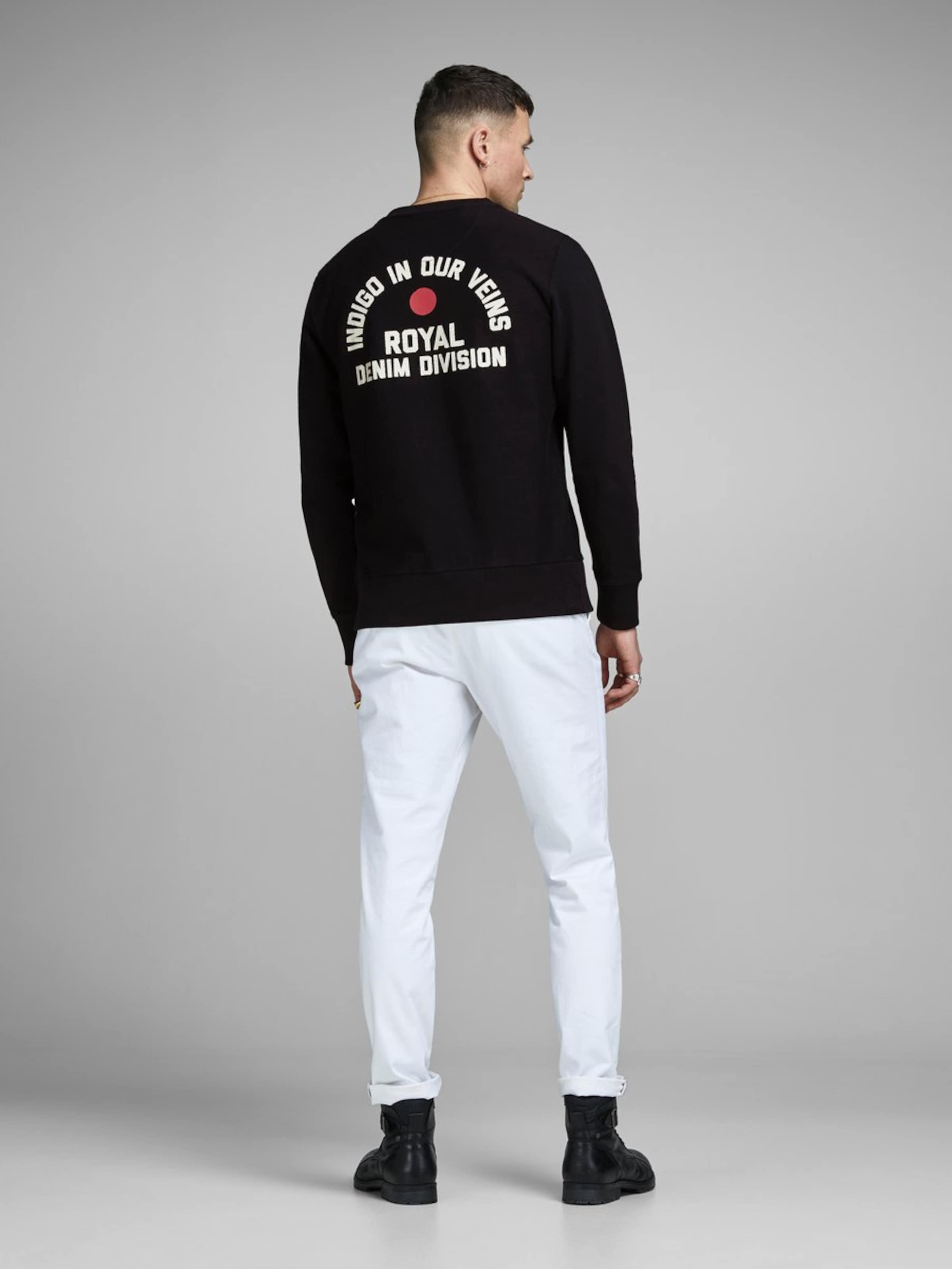 En shirt Jackamp; Sweat Jones Blanc y8m0OvNnPw