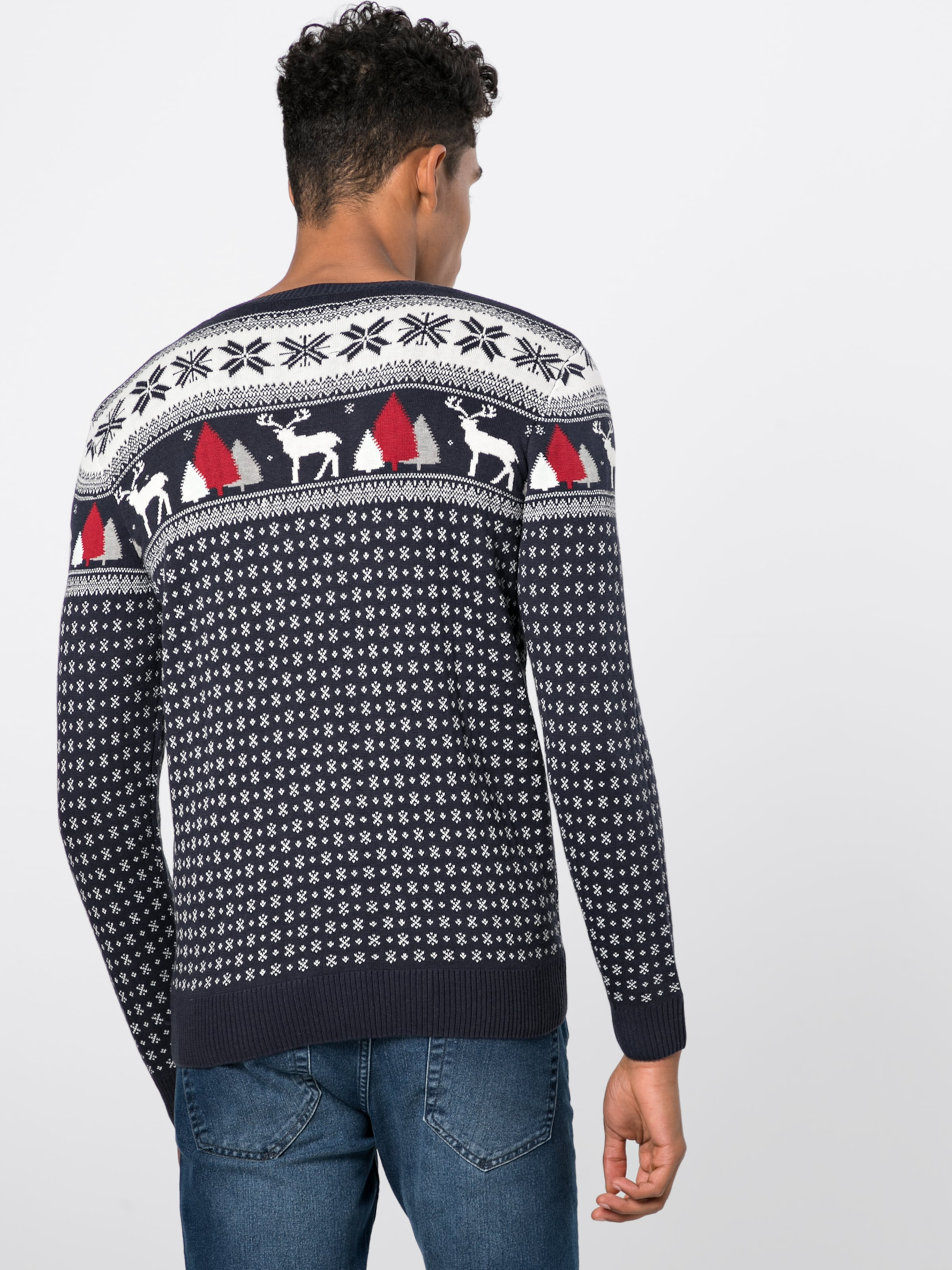Pull En Bleu NuitBlanc 'christmas Tom over Sweater' Tailor pSqzUVGM