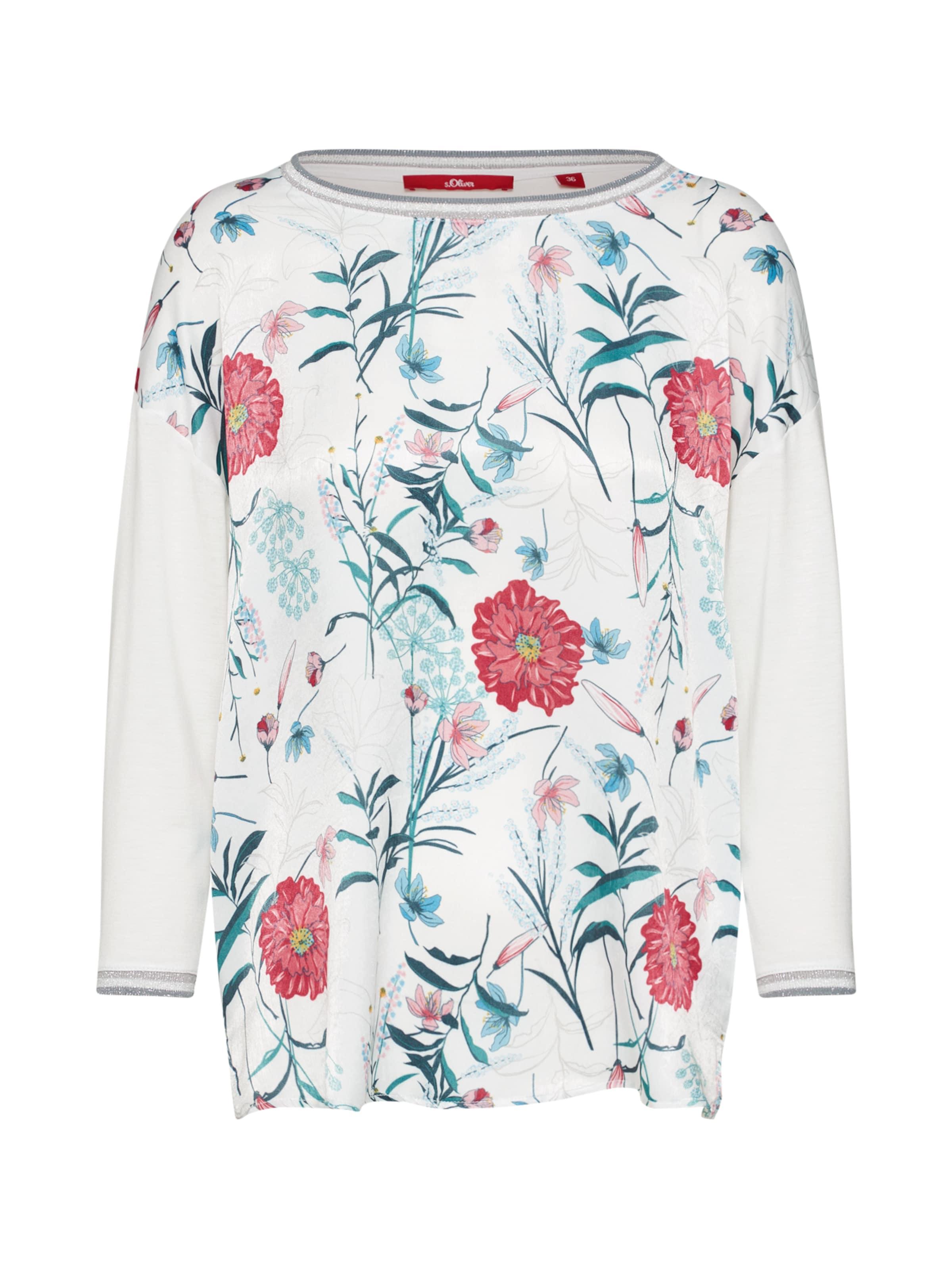 shirt NuitRose Rouge S En oliver Red Bleu Label T bfy7Y6g