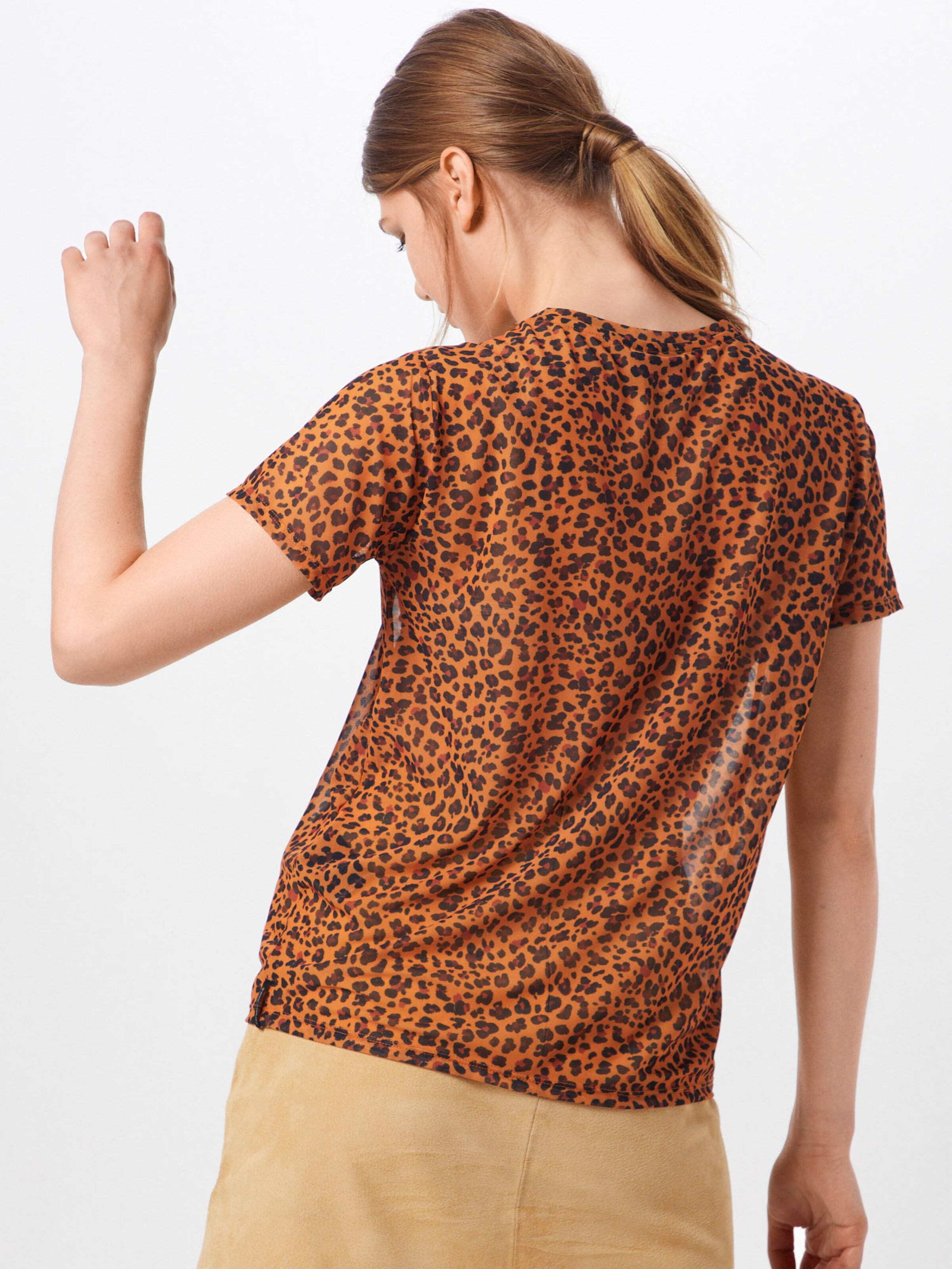 shirt T Catwalk 'ts En Golden Cheetah' Marron Junkie AjL35q4R