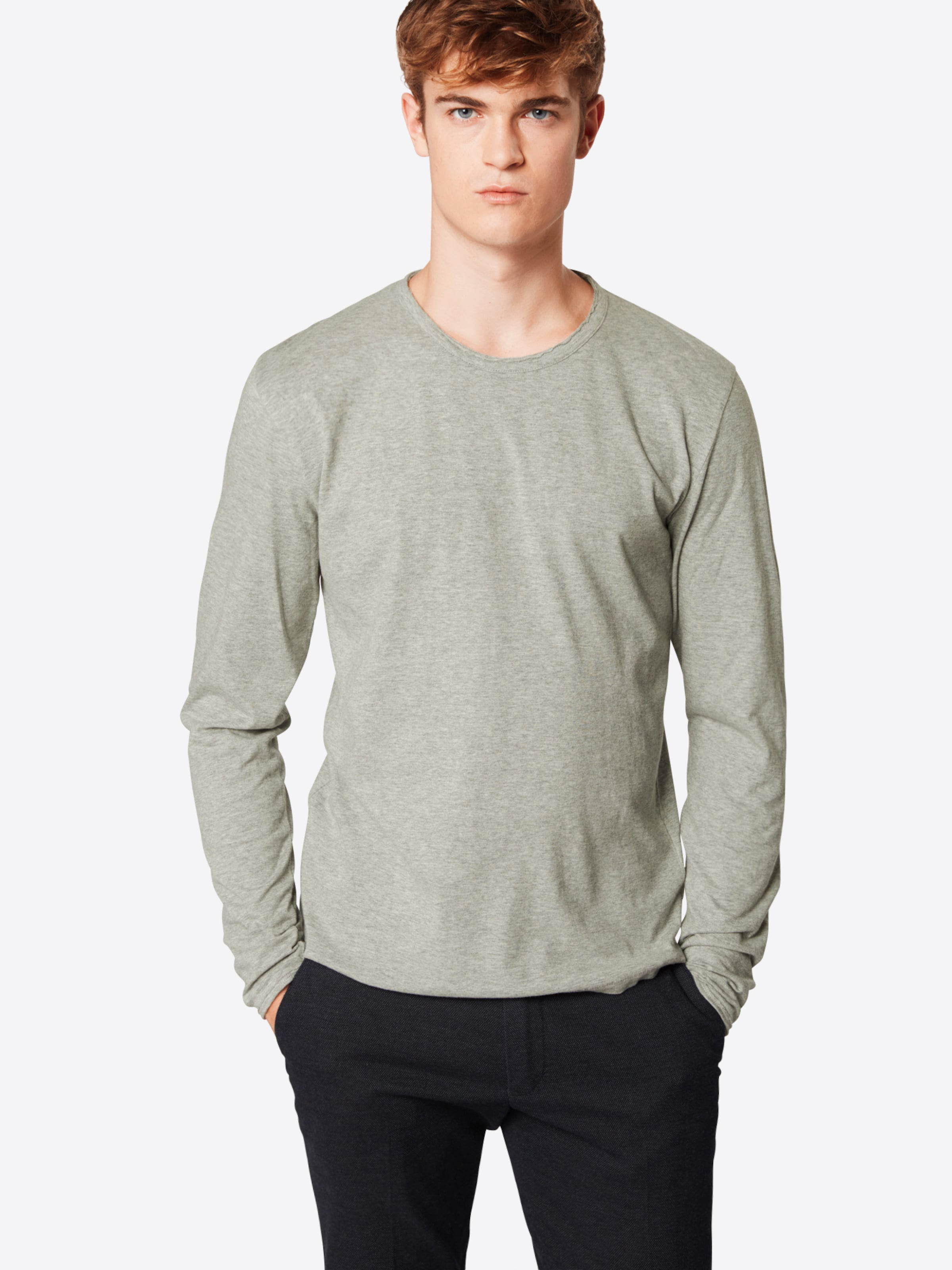 T Drykorn Gris 'yoshi 508100' shirt Clair En 3L5jSc4ARq