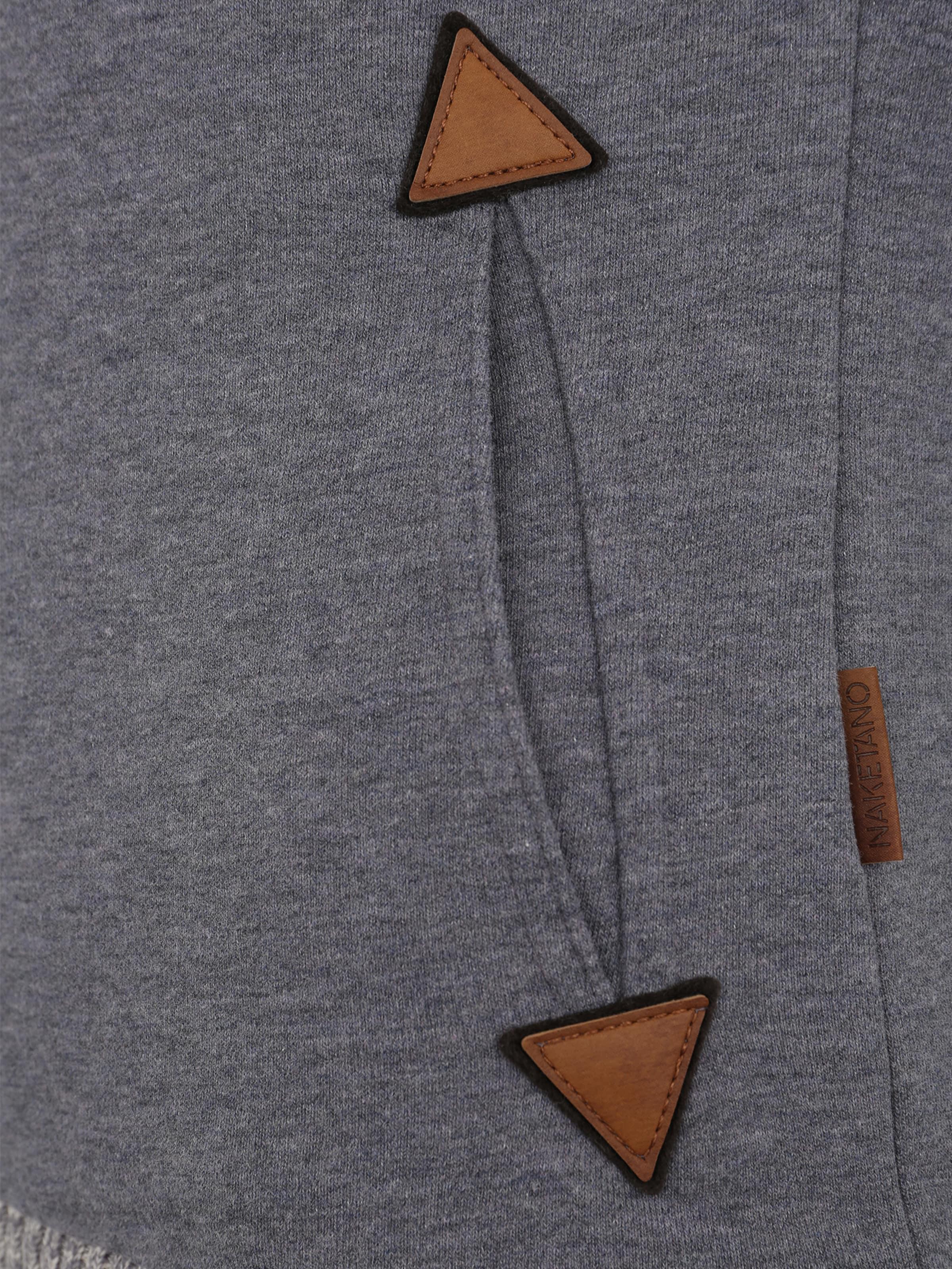 Naketano Side' 'the Sweat Dark shirt En IndigoGris kXZPiu