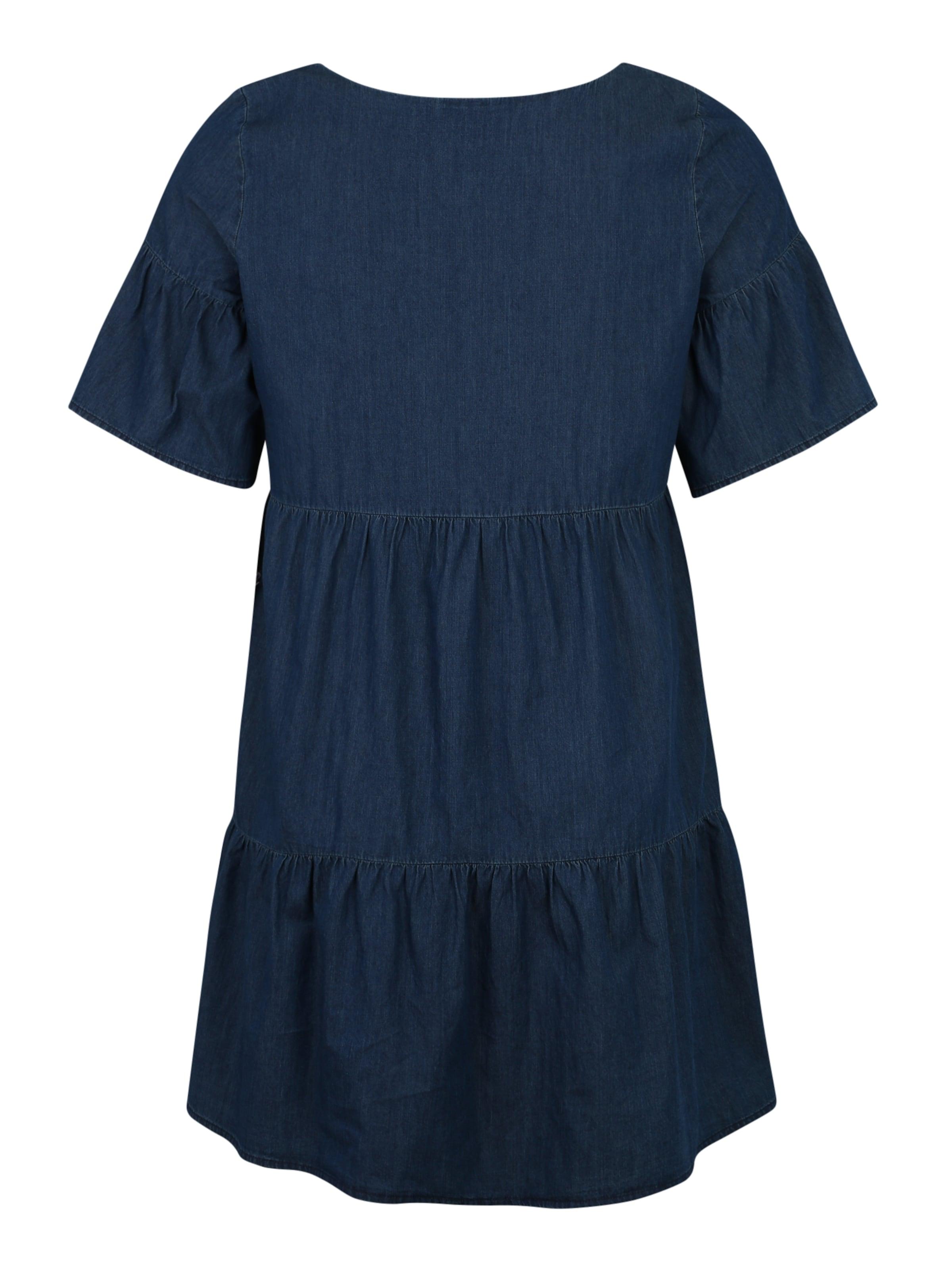 En Bleu Junarose 'allegra' Denim Robe lKJ3TF5u1c