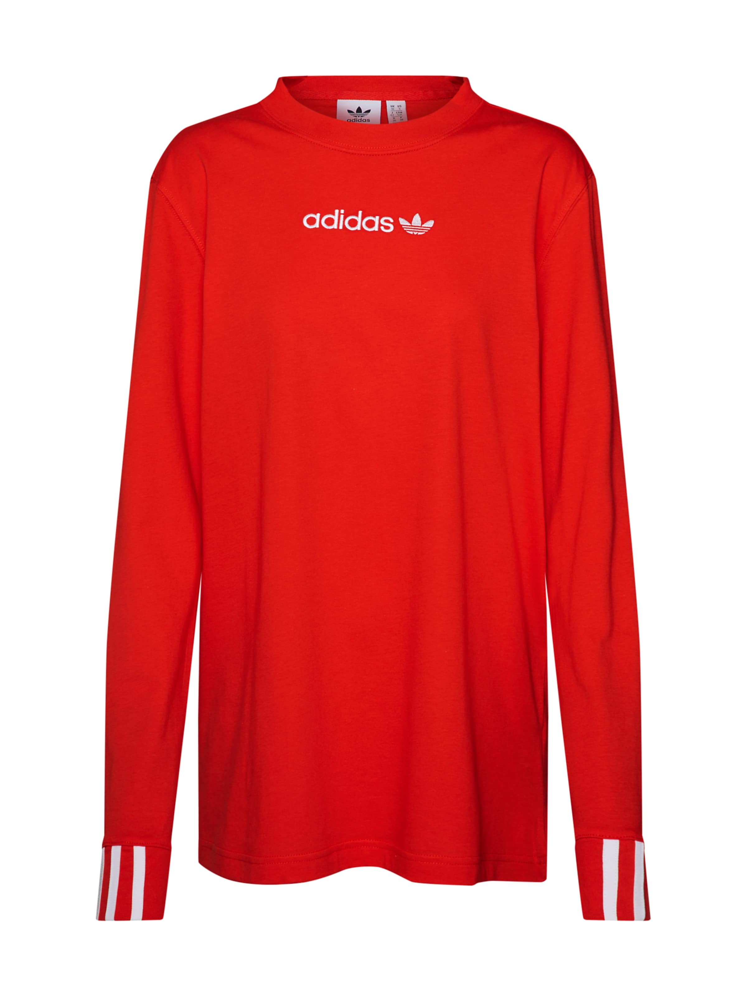 Adidas In Originals RoodWit 'coeeze Ls' Shirt DH9W2IYE
