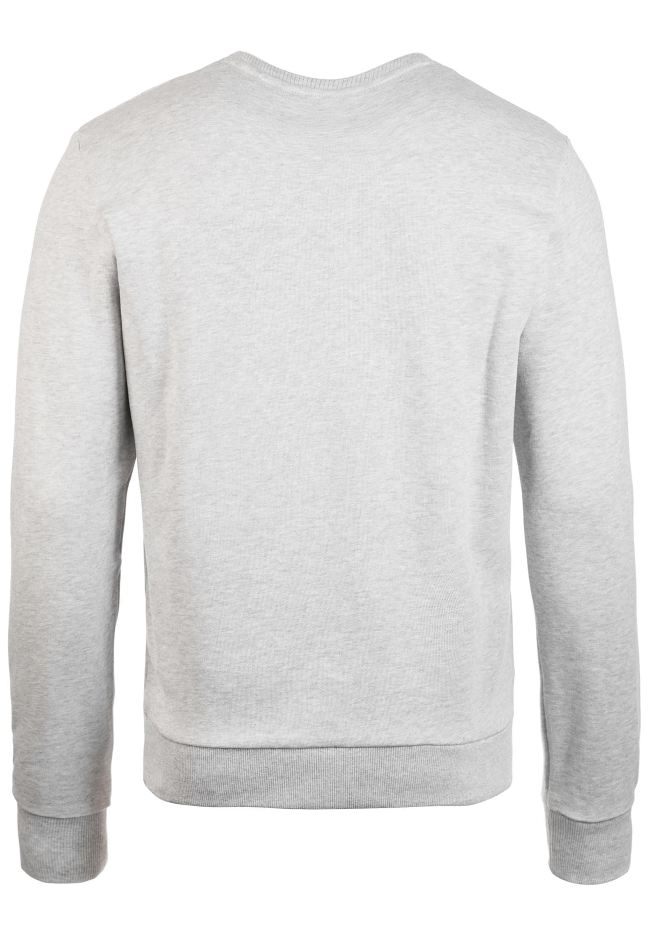 Chiné Sweat shirt Scott Lyleamp; JauneGris En shrdxCtQ
