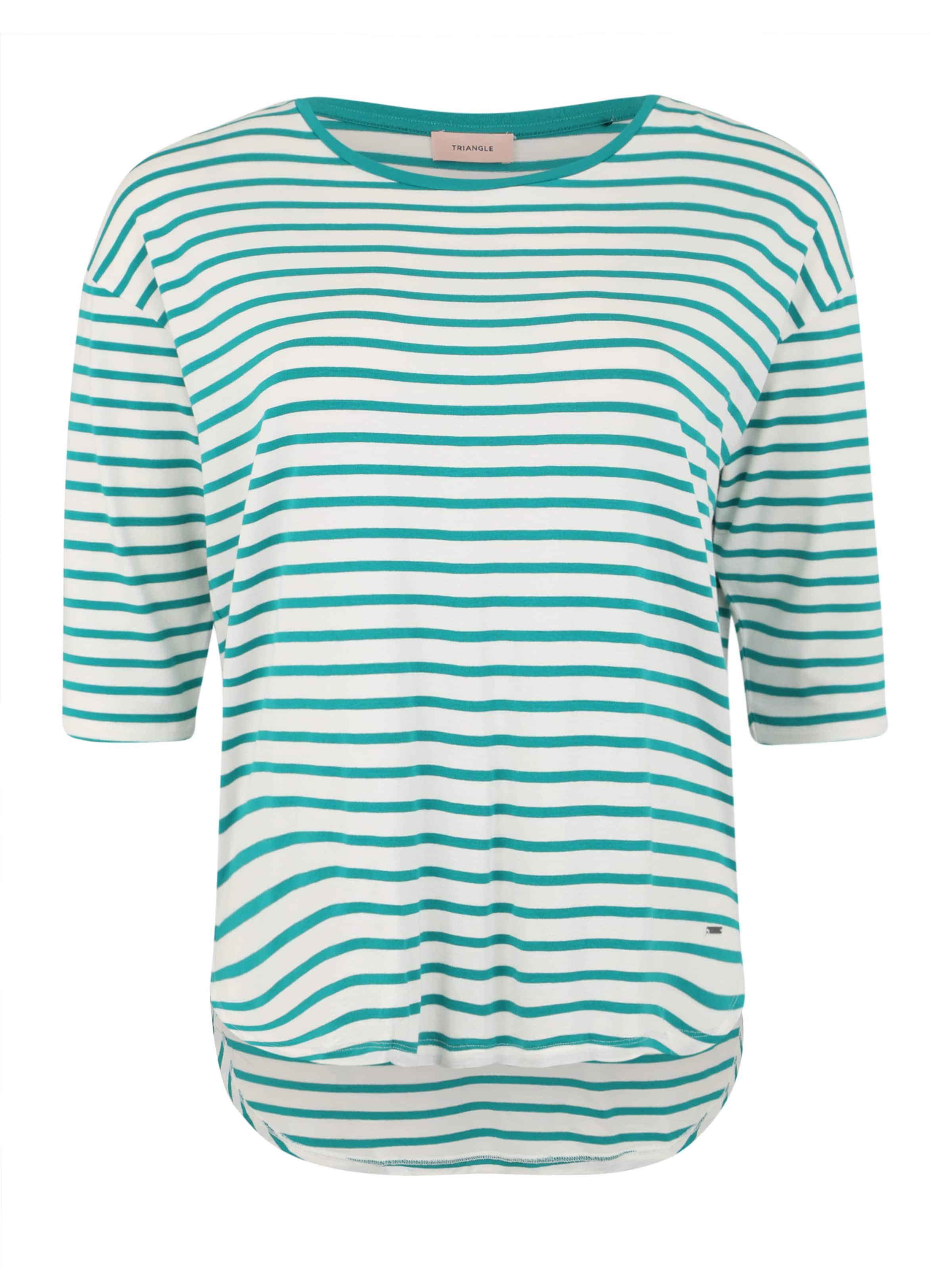 Bleu En Marine shirt T Triangle v0P8OmNnyw
