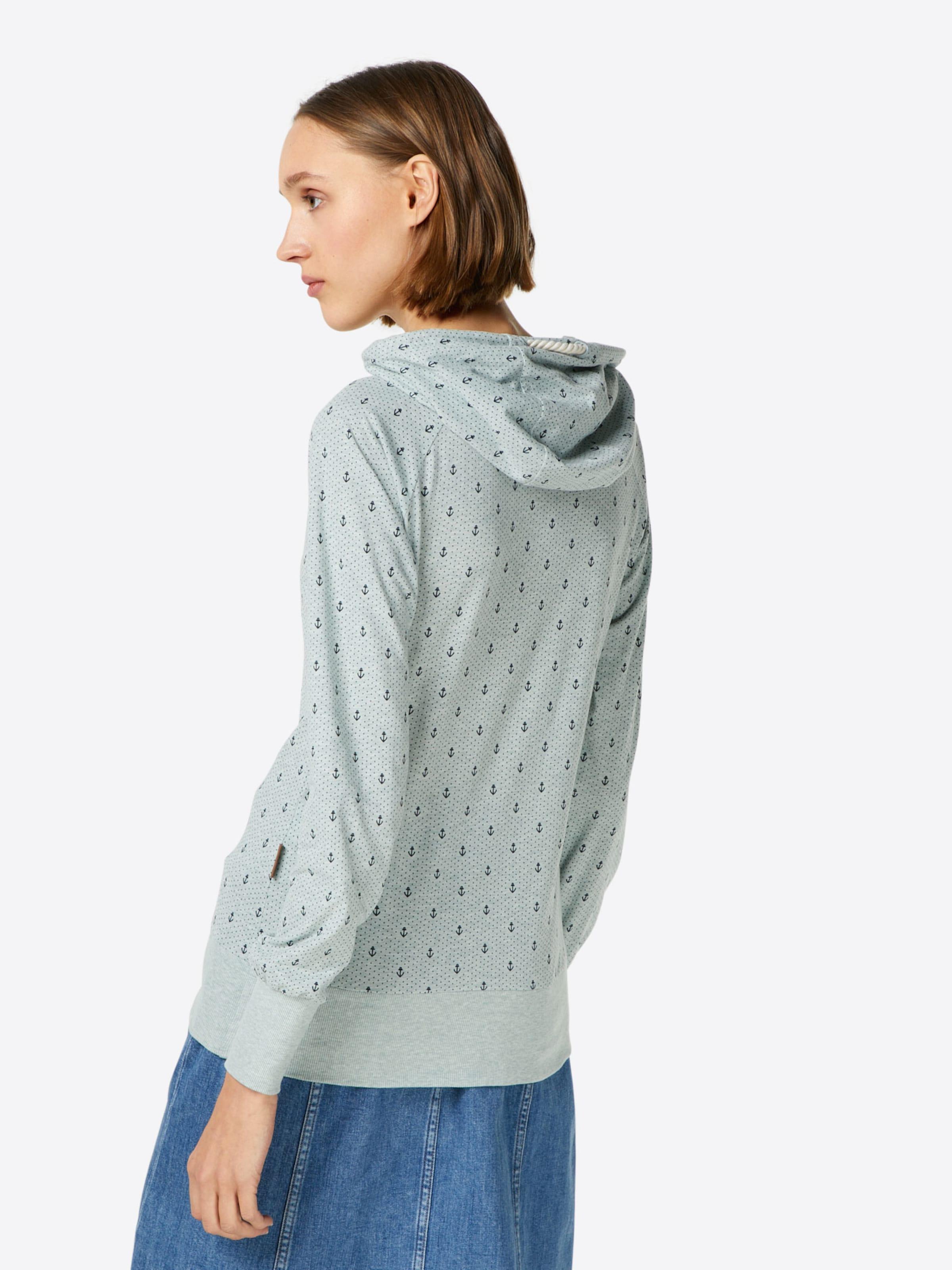 Ankerdizzel' Sweatshirt DunkelblauPastellgrün 'mandy In Naketano vNw80mynO