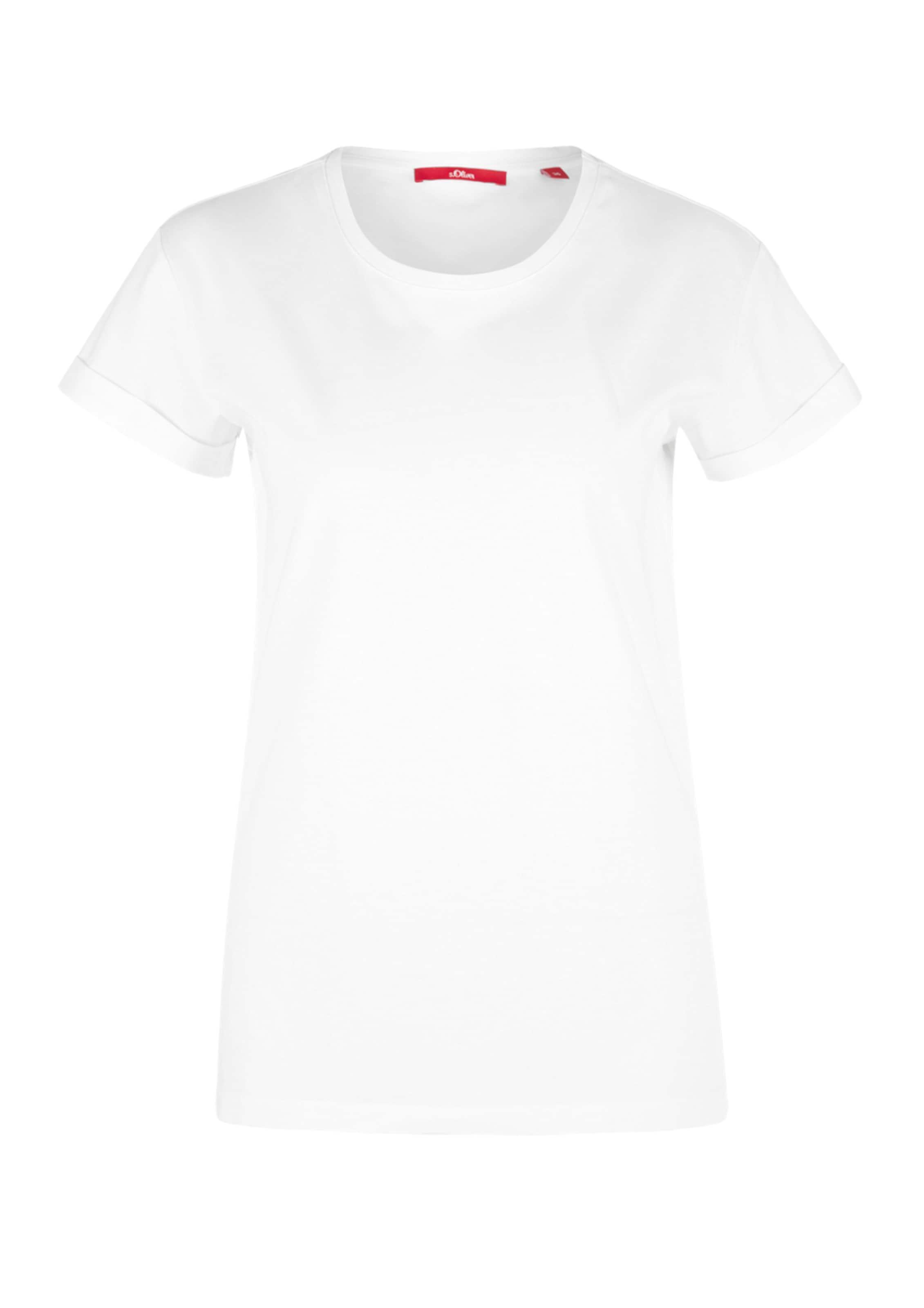 Shirt Label In oliver S Red Weiß BdCxoer