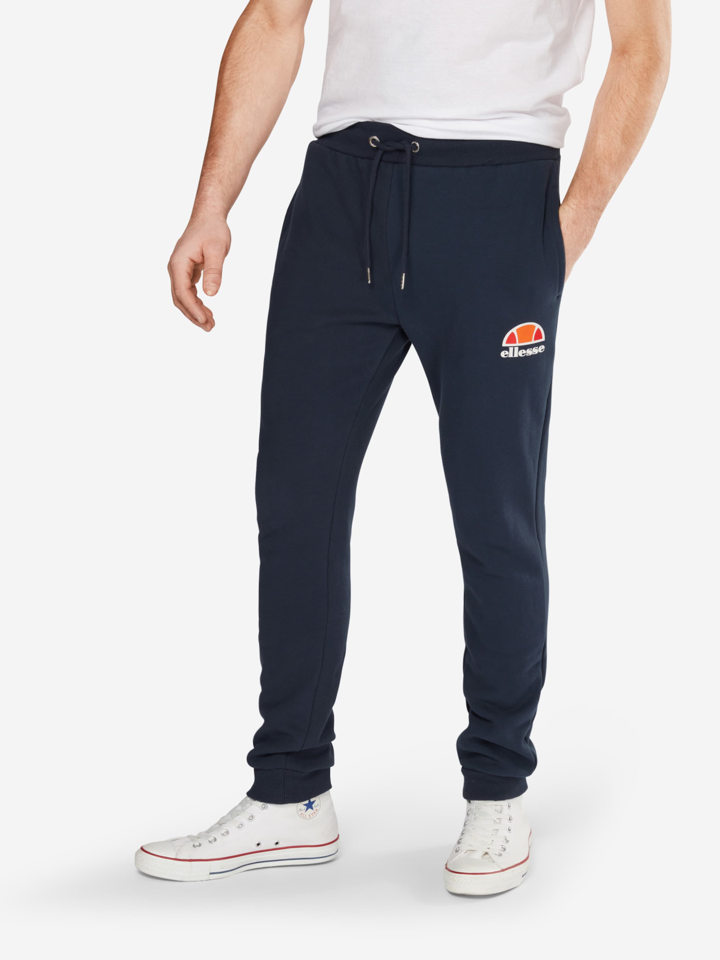 Ellesse 'ovest' En Blanc OrangeNoir Pantalon tosxQdhrCB