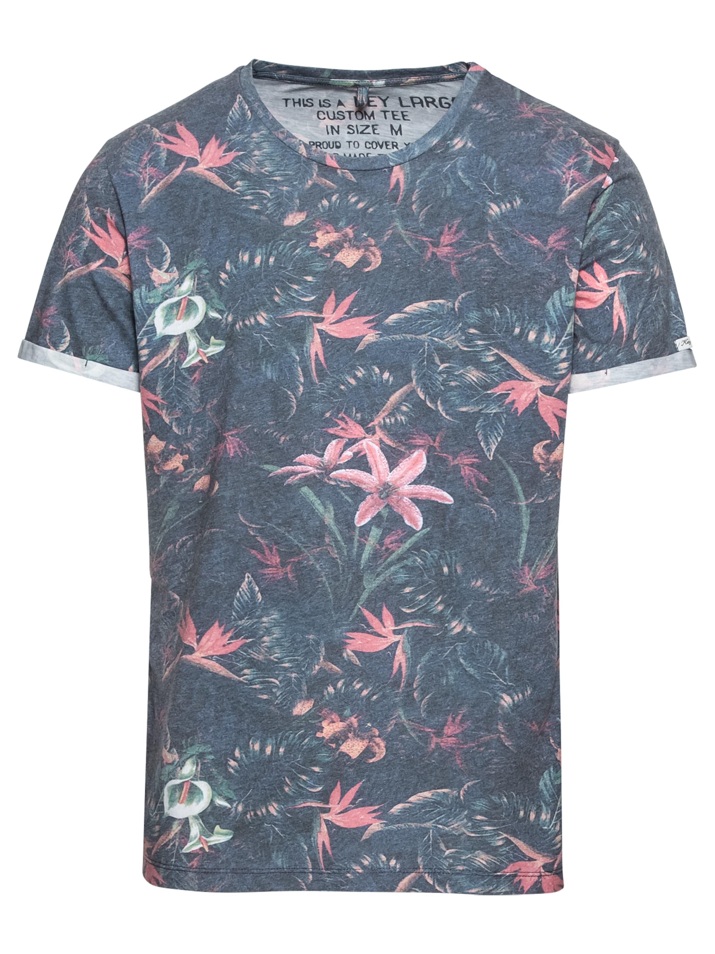 Jungle En Key Round' Largo 'mt shirt Bleu T FuméRose ulcK1T3JF5